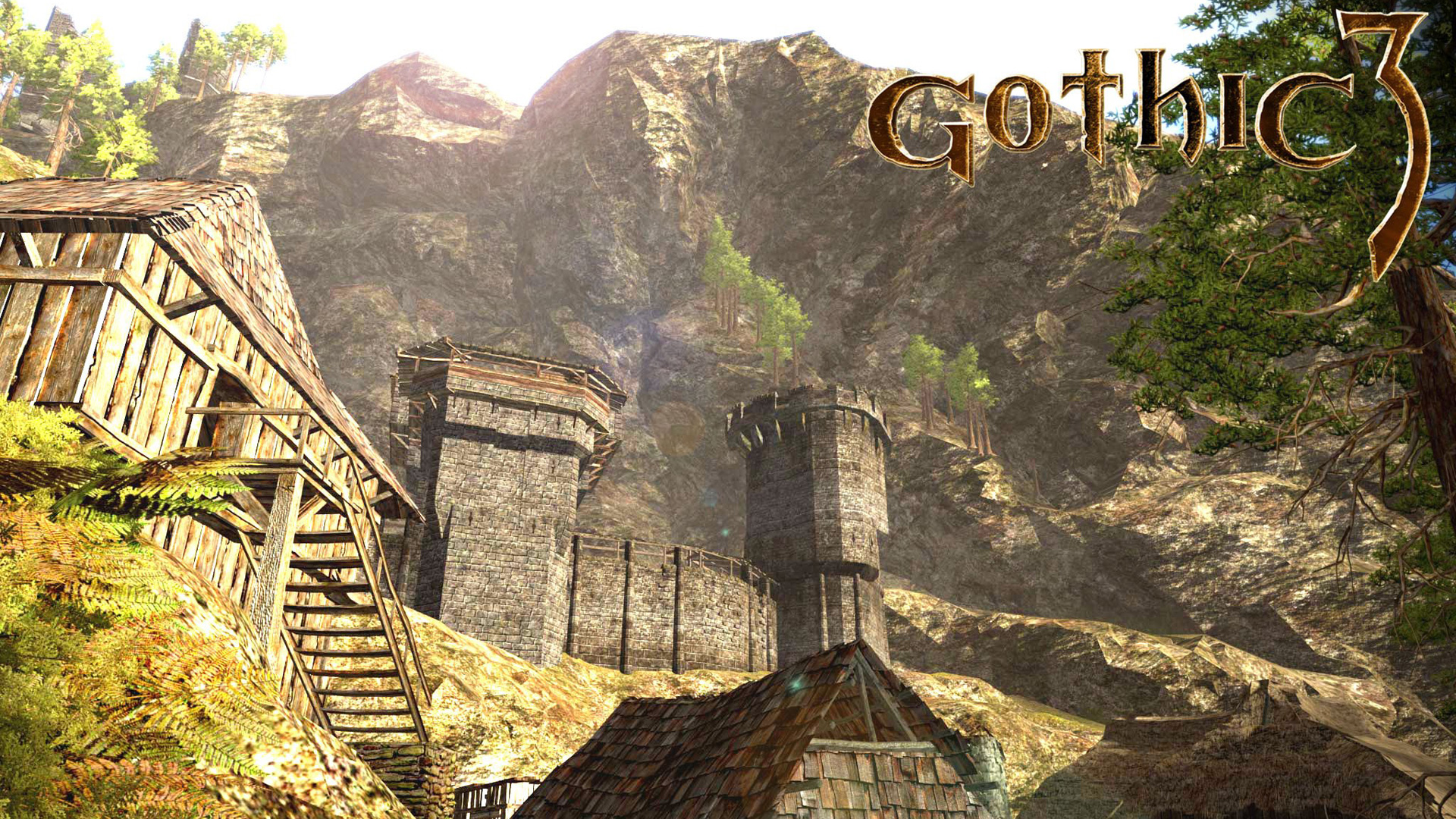 Free Gothic 3 Wallpaper in 1920x1080