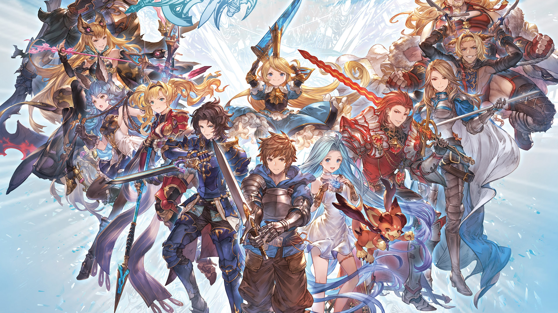 Free Granblue Fantasy Versus Wallpaper in 1920x1080