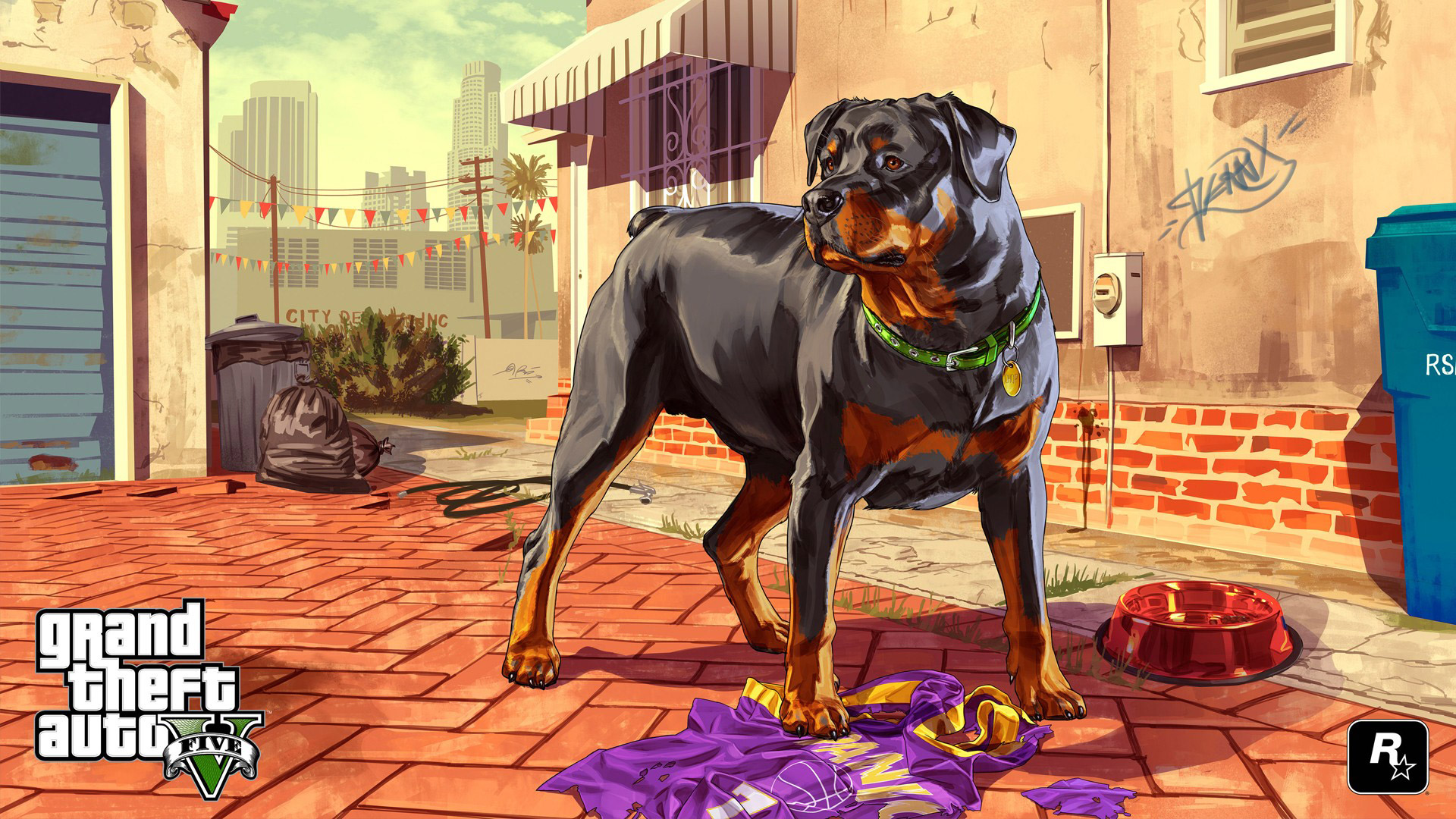 Free Grand Theft Auto V Wallpaper in 1920x1080