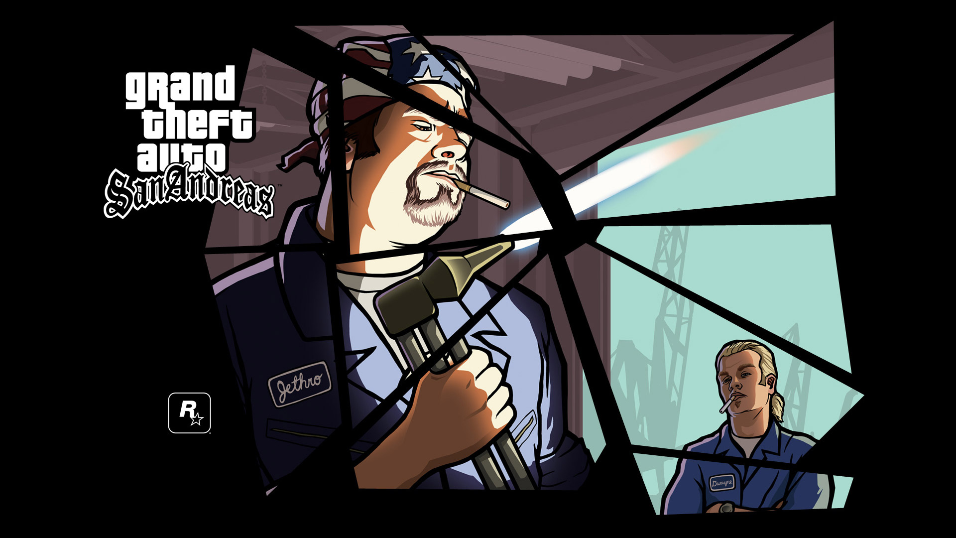 Grand Theft Auto: San Andreas Wallpaper in 1920x1080