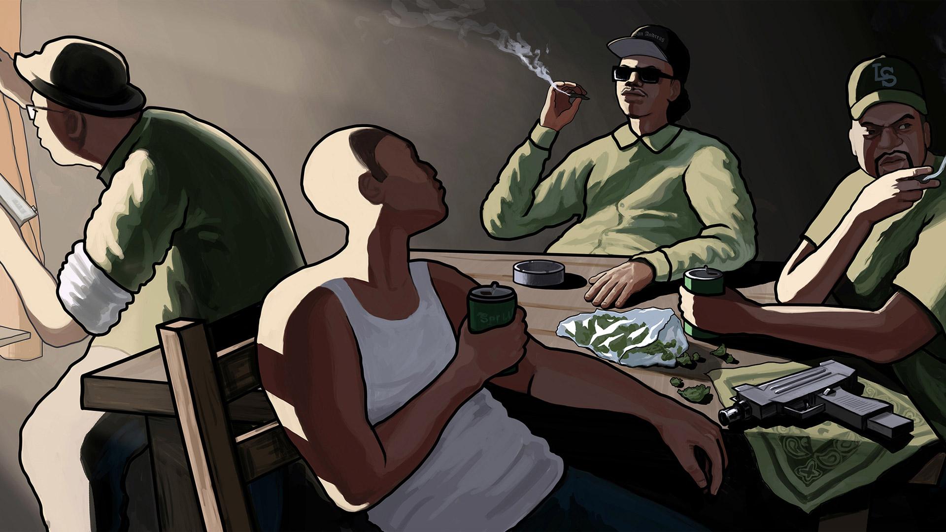 Free Grand Theft Auto: San Andreas Wallpaper in 1920x1080