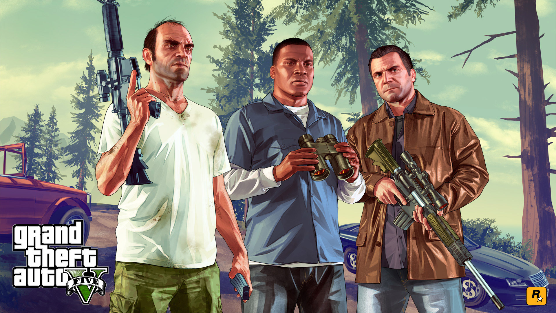 Free Grand Theft Auto V Wallpaper in 1920x1080