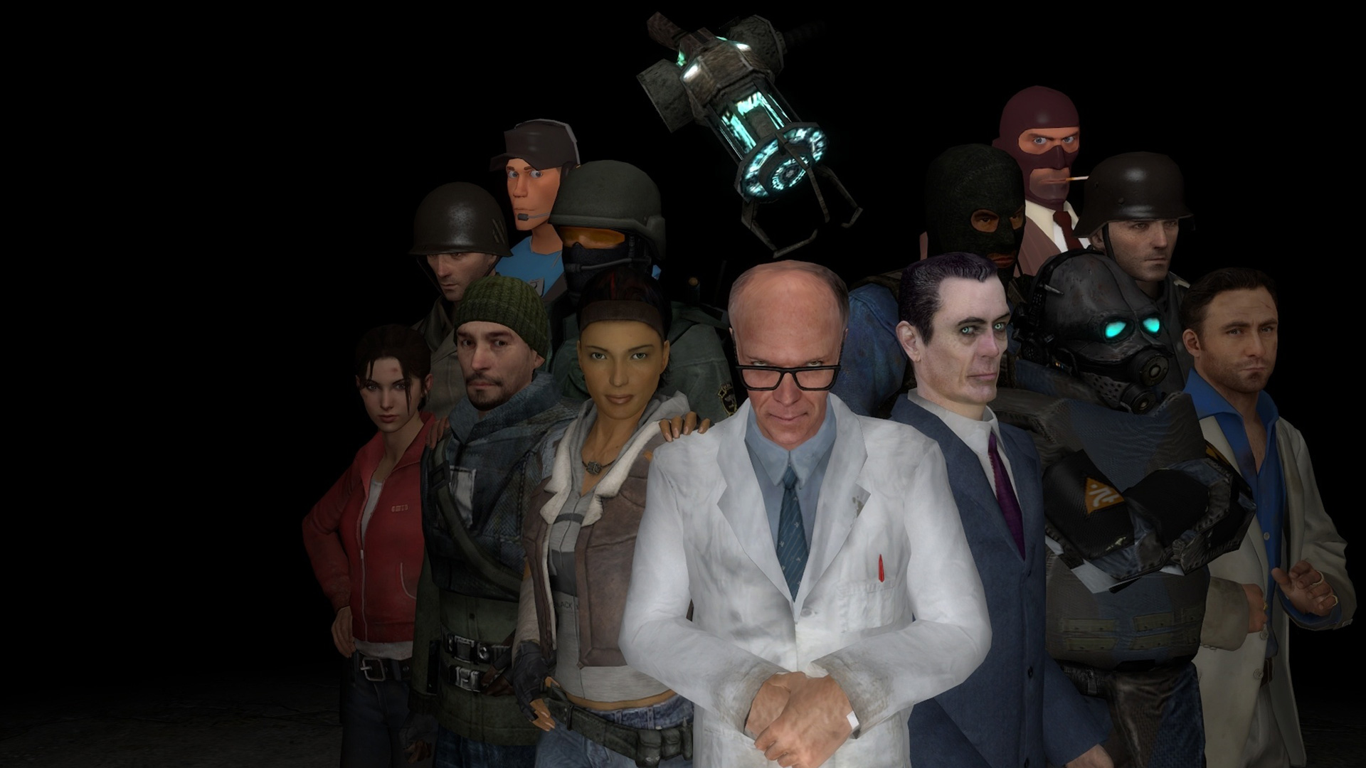 Free Half-Life 2 - Garry's Mod Wallpaper in 1920x1080