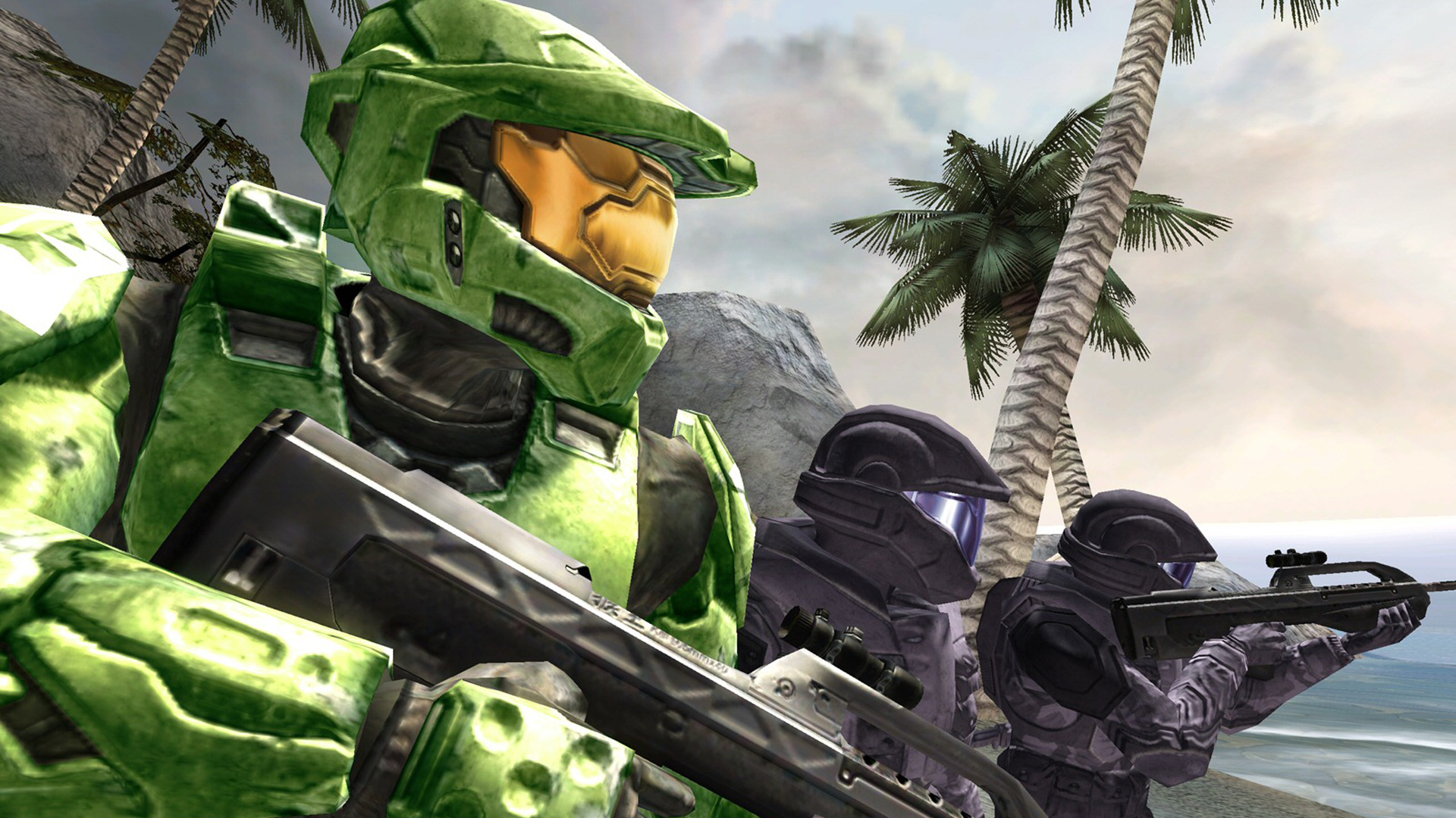 Free Halo 2 Wallpaper in 1920x1080