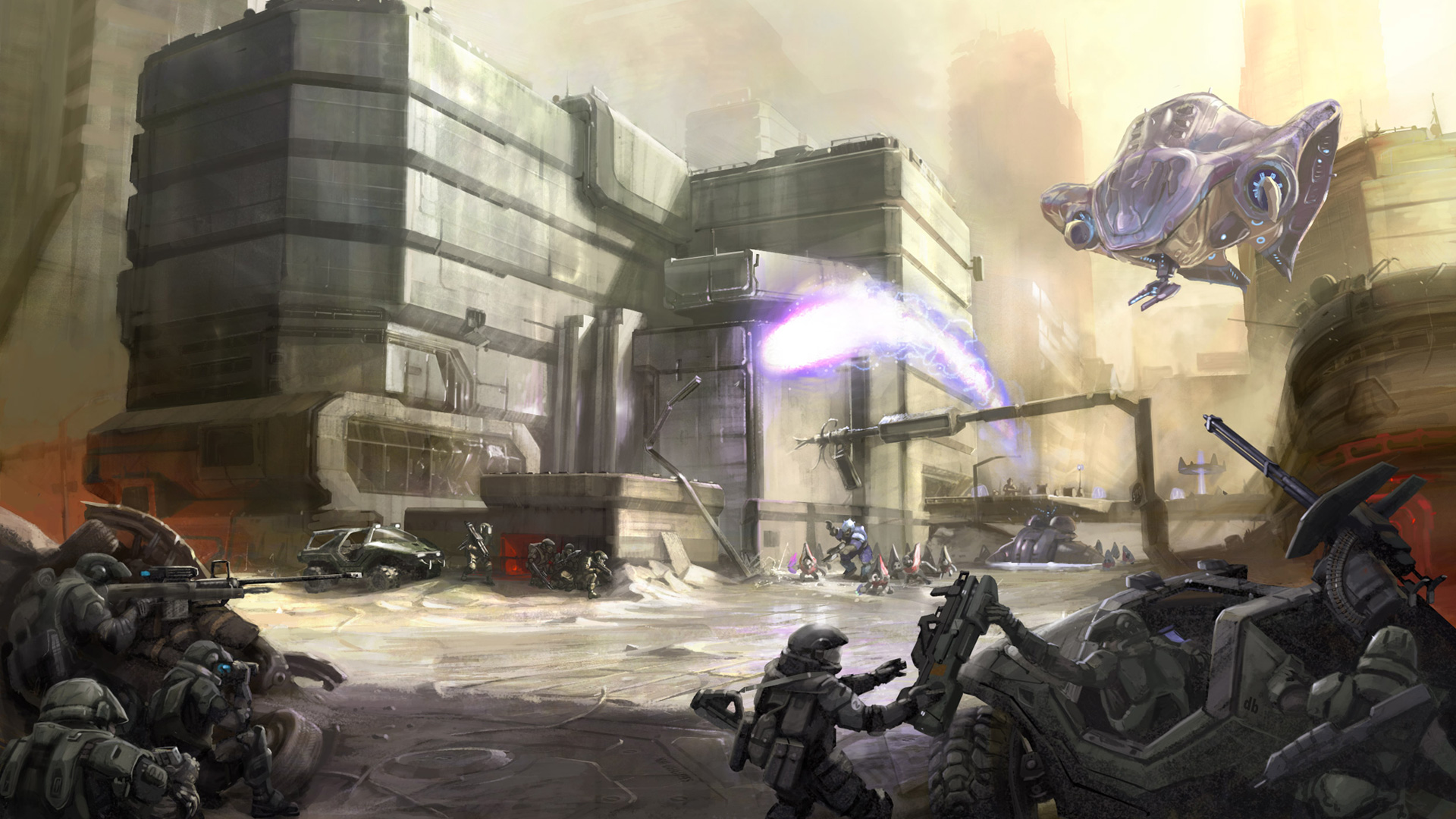 Halo 2 Wallpaper in 1920x1080