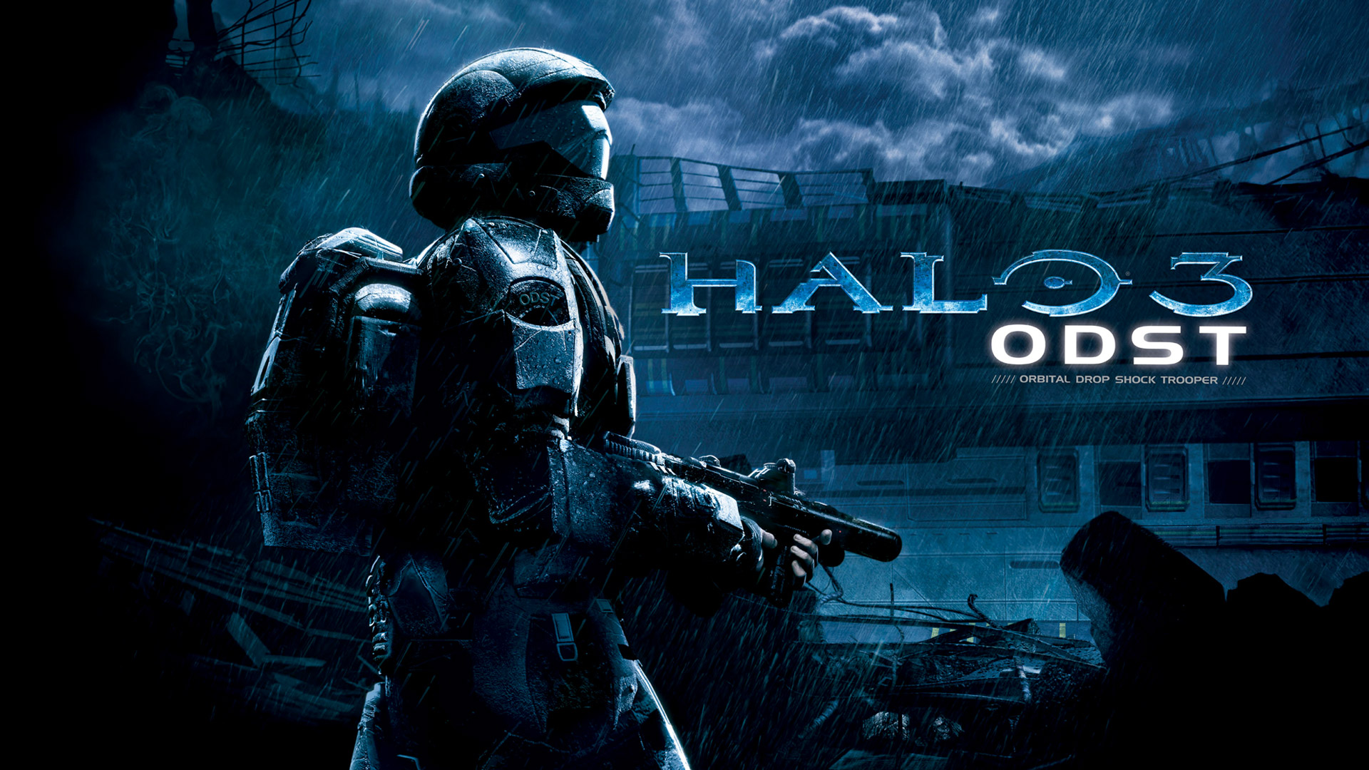 Halo 3: ODST Wallpaper in 1920x1080