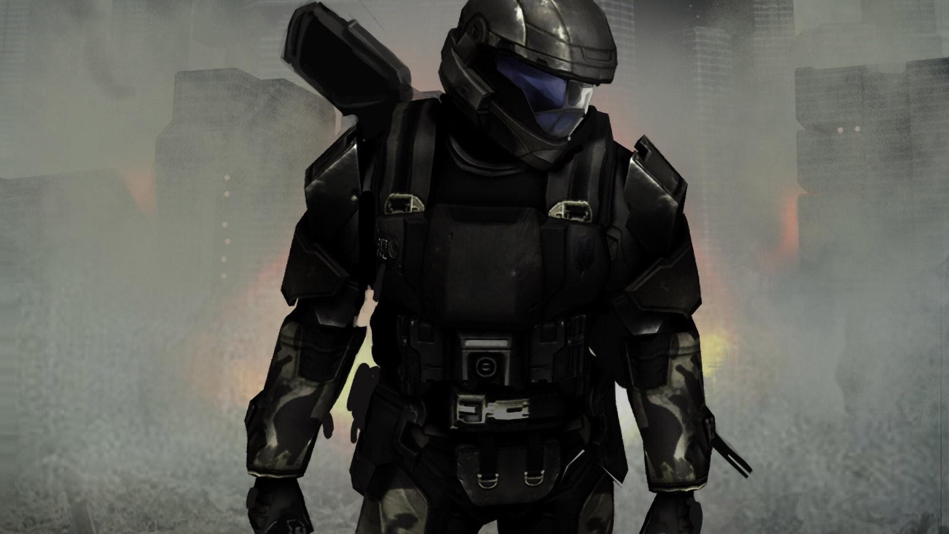 Halo 3: ODST Wallpaper in 1920x1080