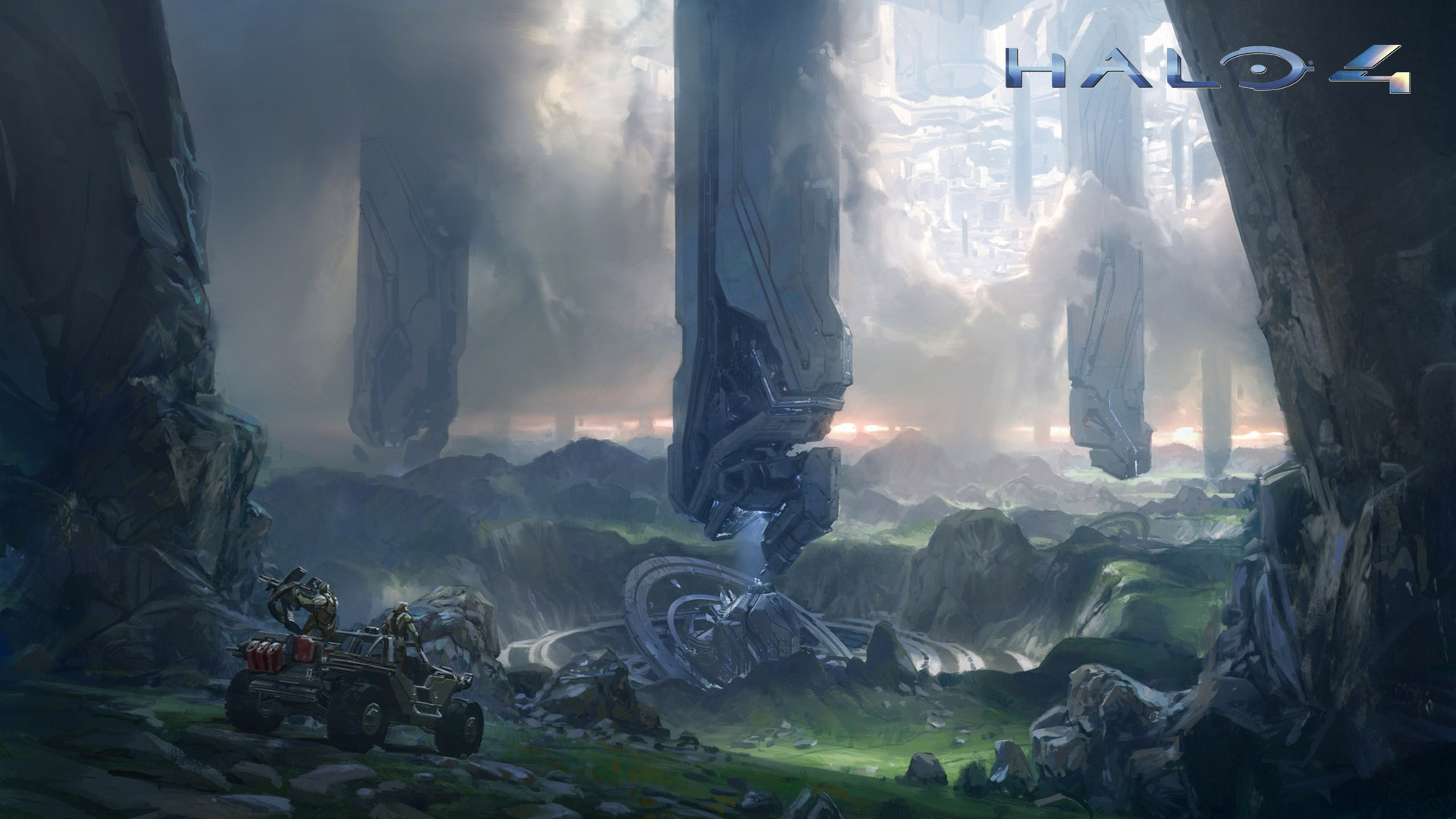 Halo 4 Wallpaper in 1920x1080