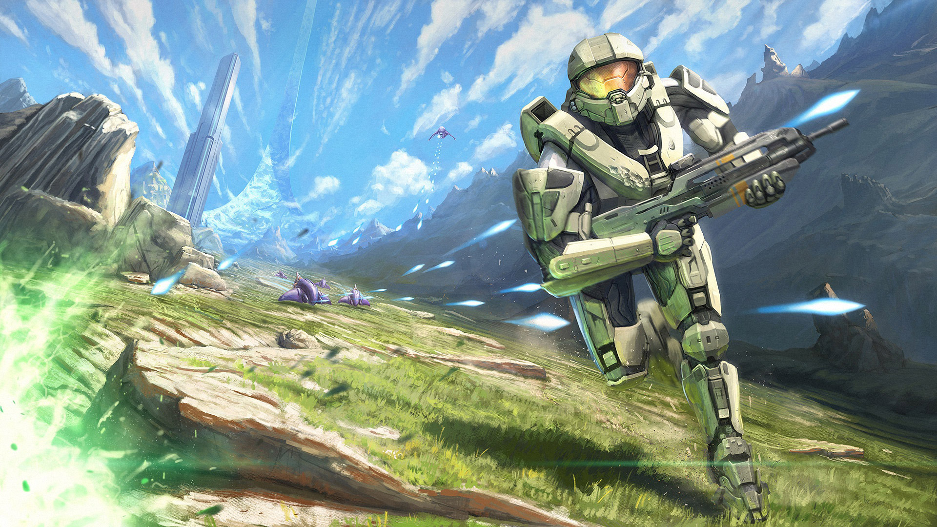 Free Halo Wallpaper in 1920x1080