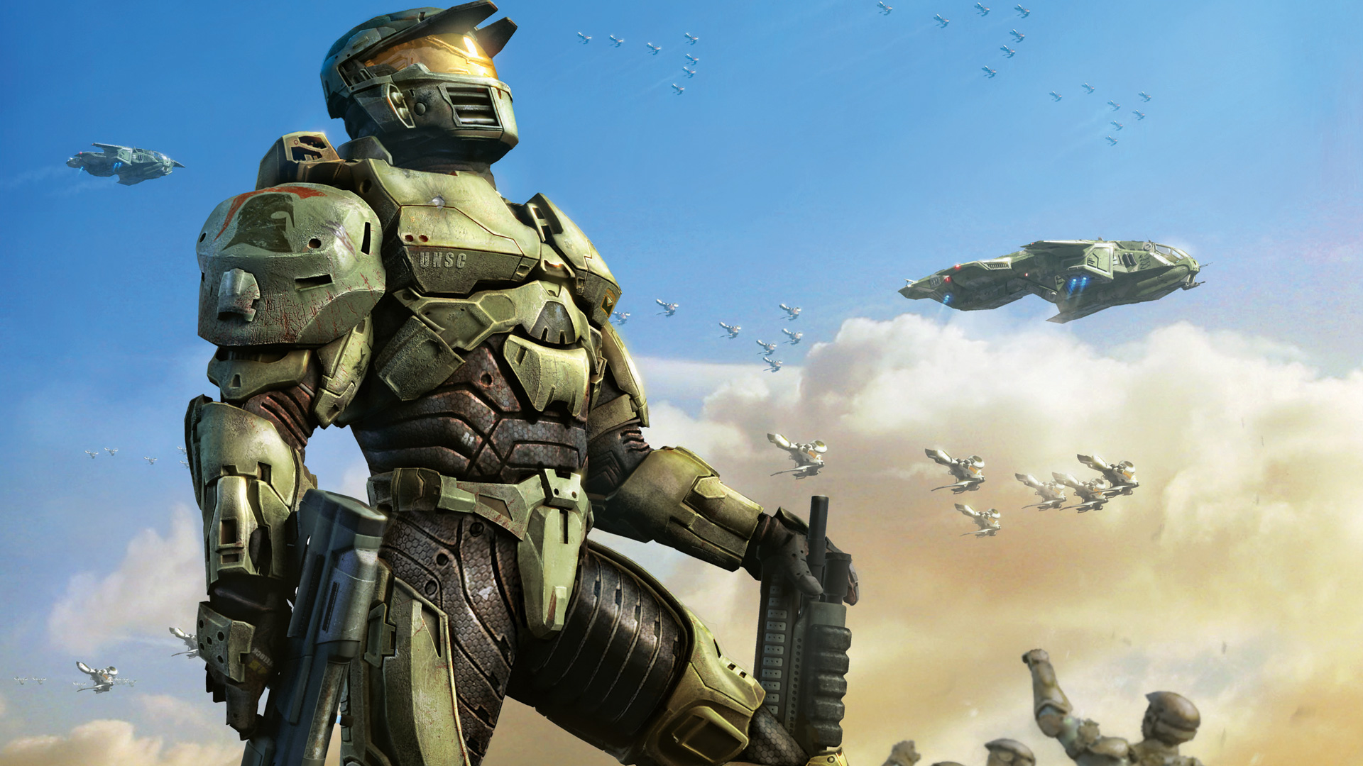 Halo Wars Wallpaper in 1920x1080
