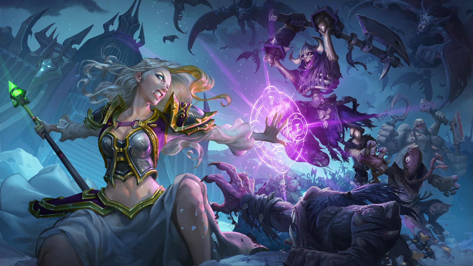 Free Hearthstone: Heroes of Warcraft Wallpaper in 1920x1080