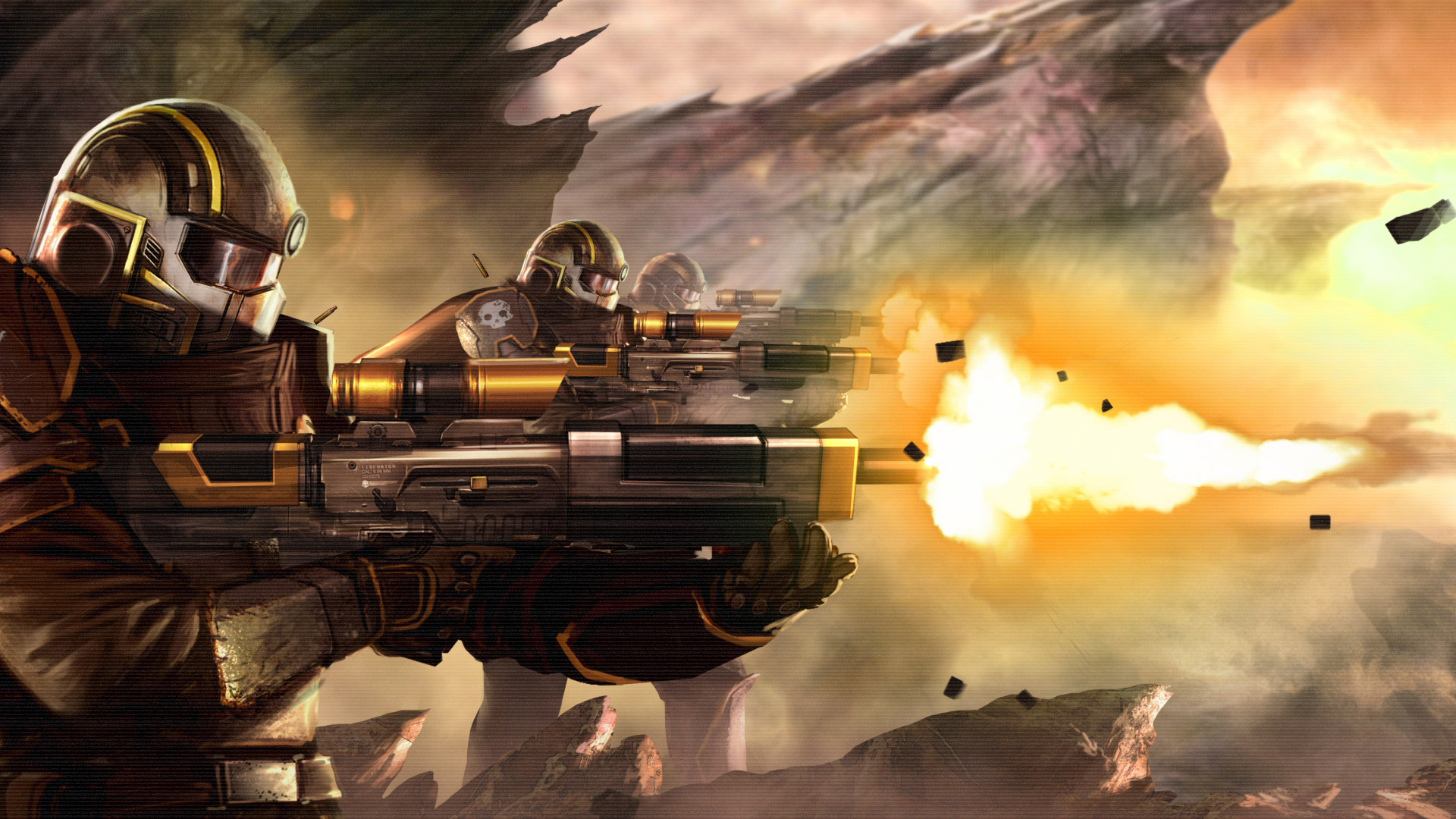 Free Helldivers Wallpaper in 1920x1080