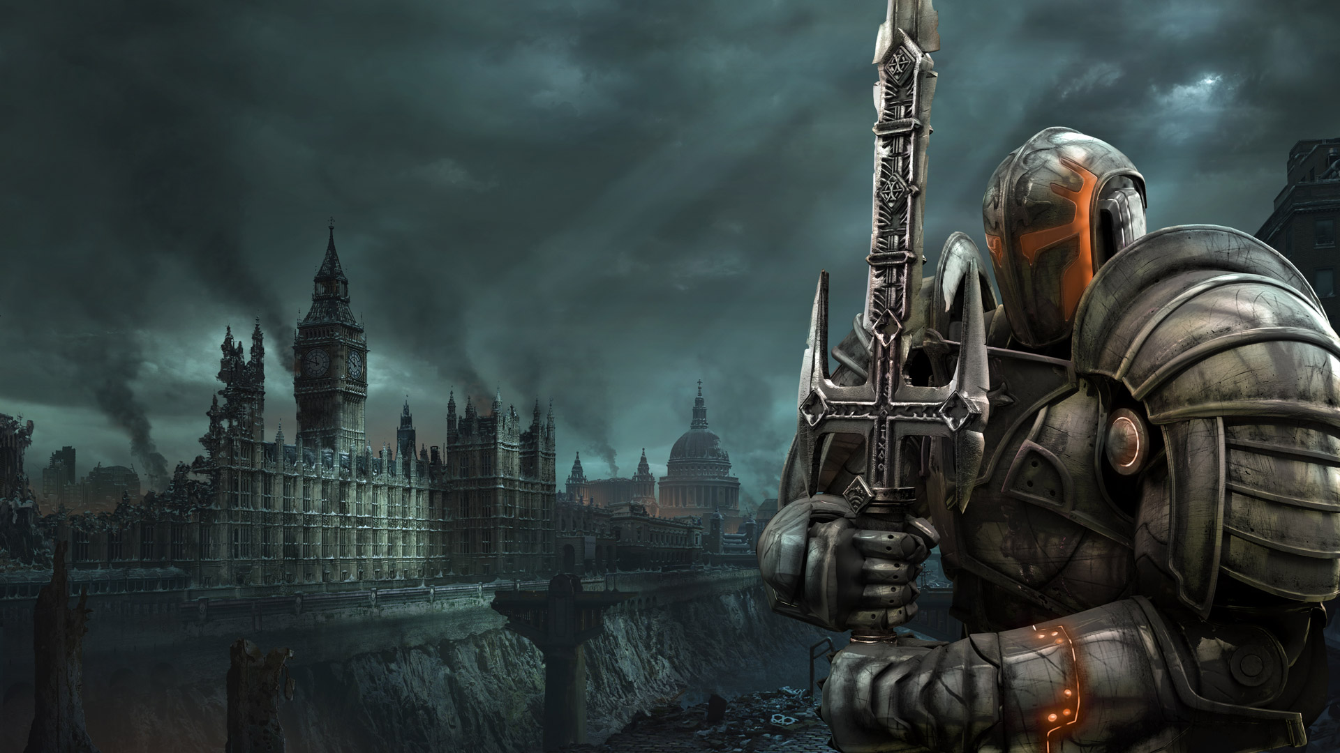 Free Hellgate: London Wallpaper in 1920x1080