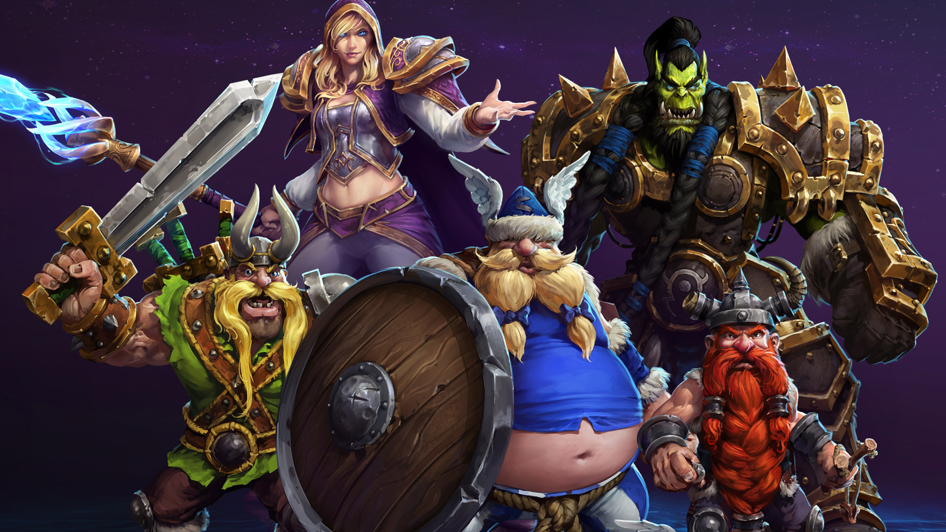 Free Heroes of the Storm Wallpaper in 1920x1080
