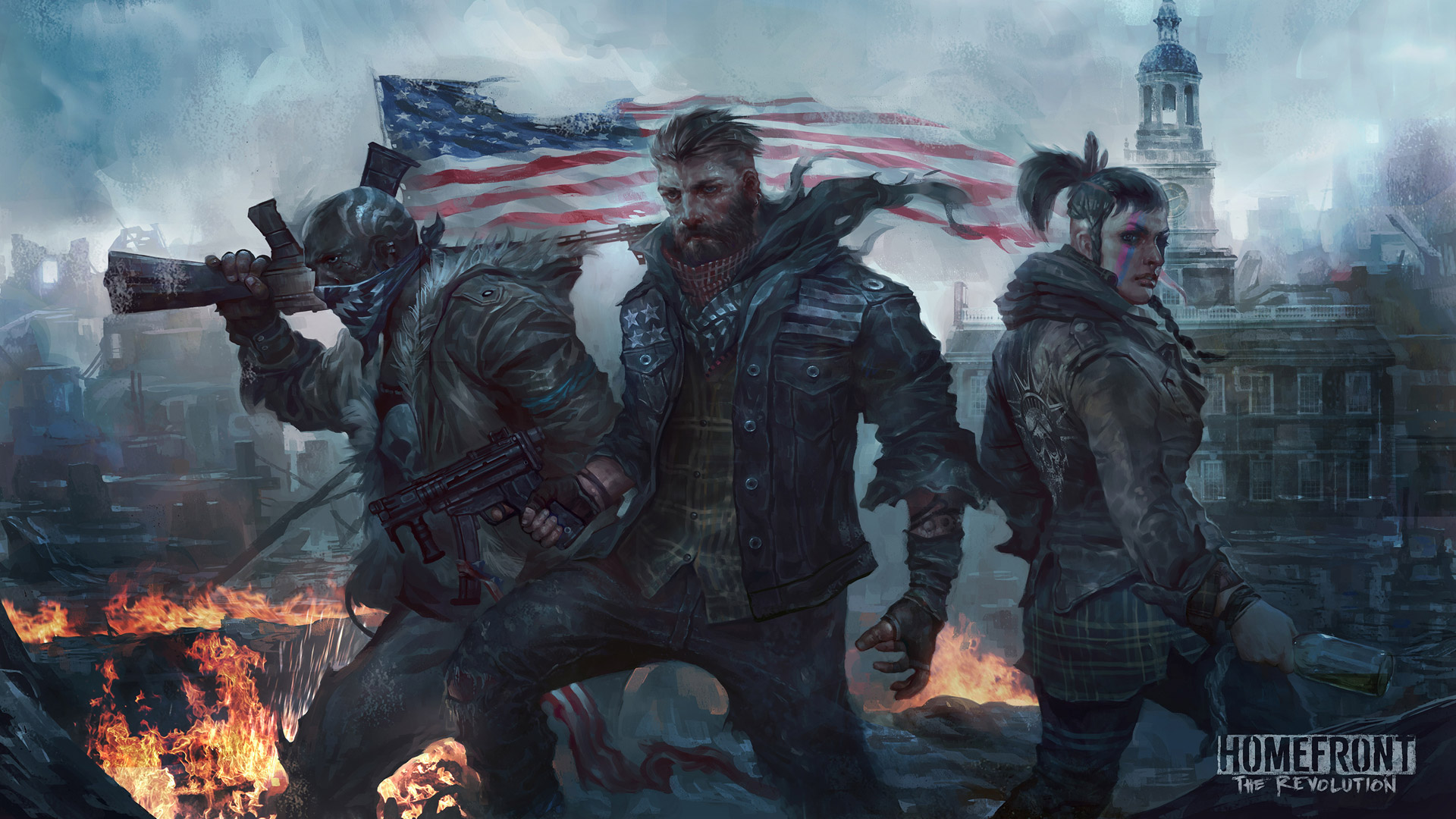 Free Homefront: The Revolution Wallpaper in 1920x1080
