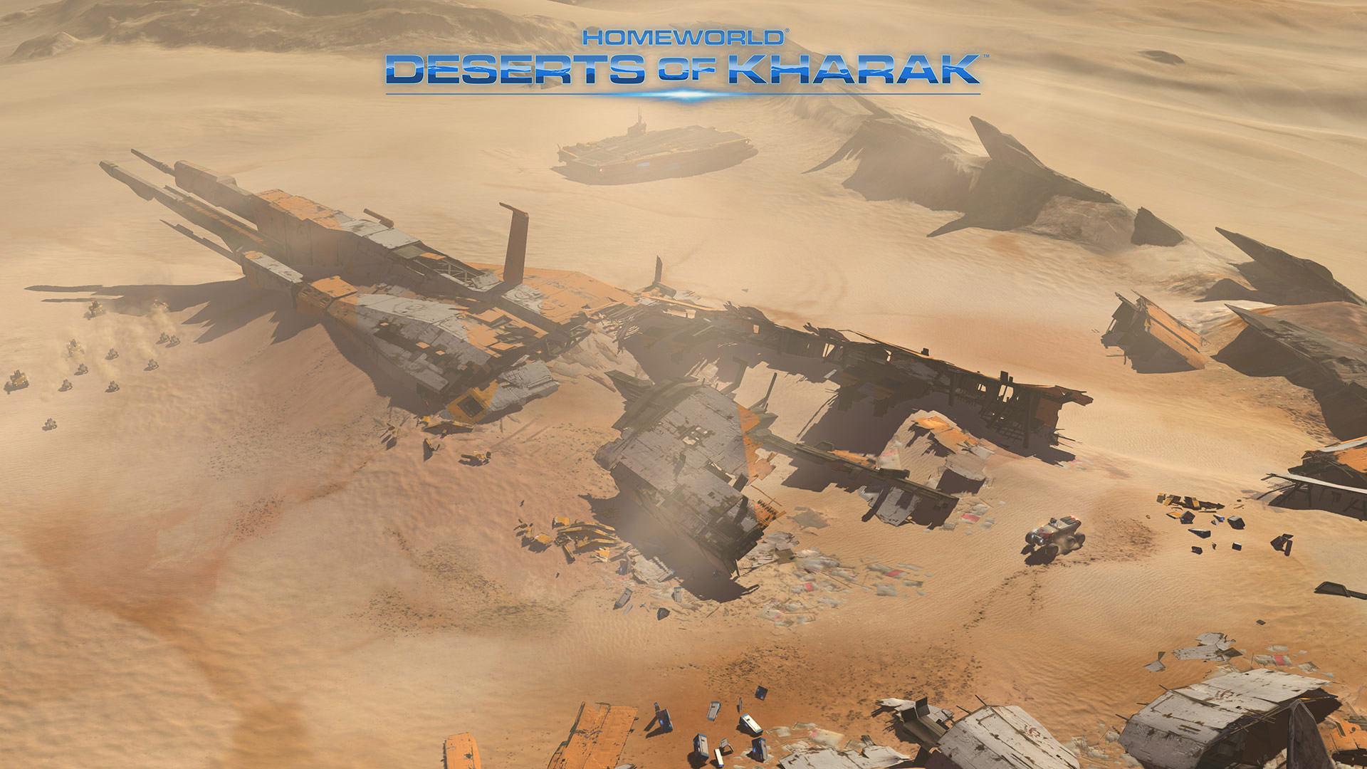 Free Homeworld: Deserts of Kharak Wallpaper in 1920x1080