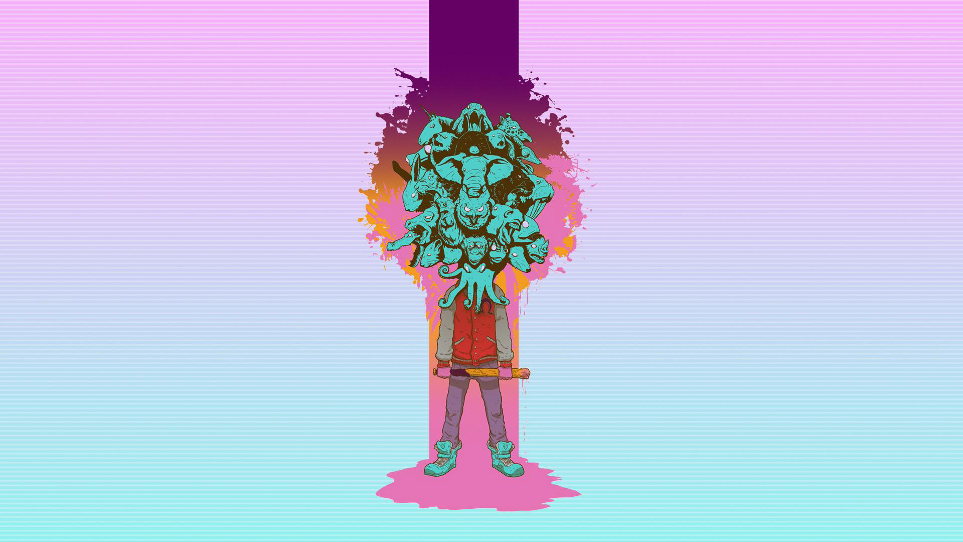 Free Hotline Miami 2: Wrong Number Wallpaper in 1920x1080