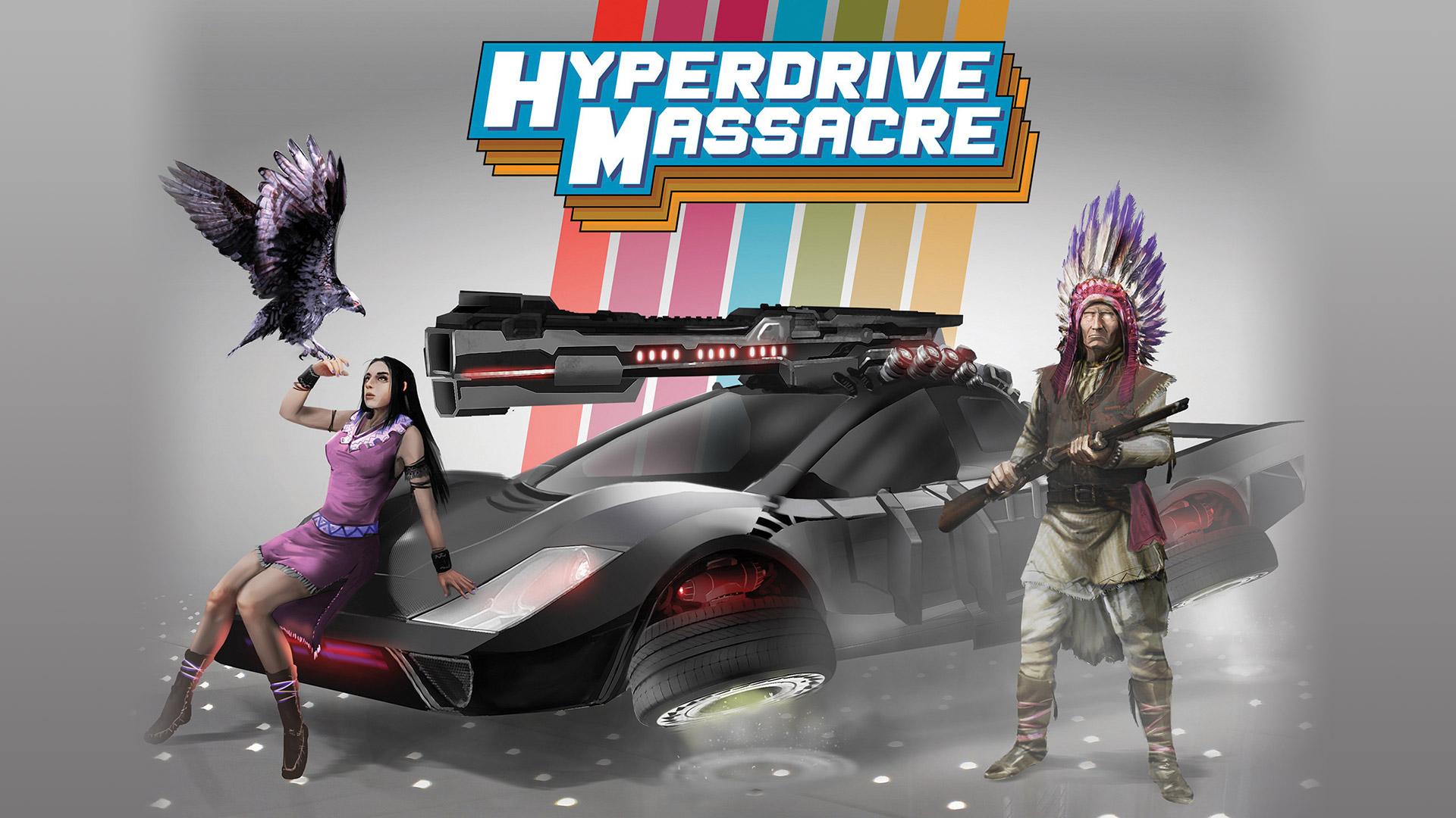 Hyperdrive Massacre Wallpaper in 1920x1080