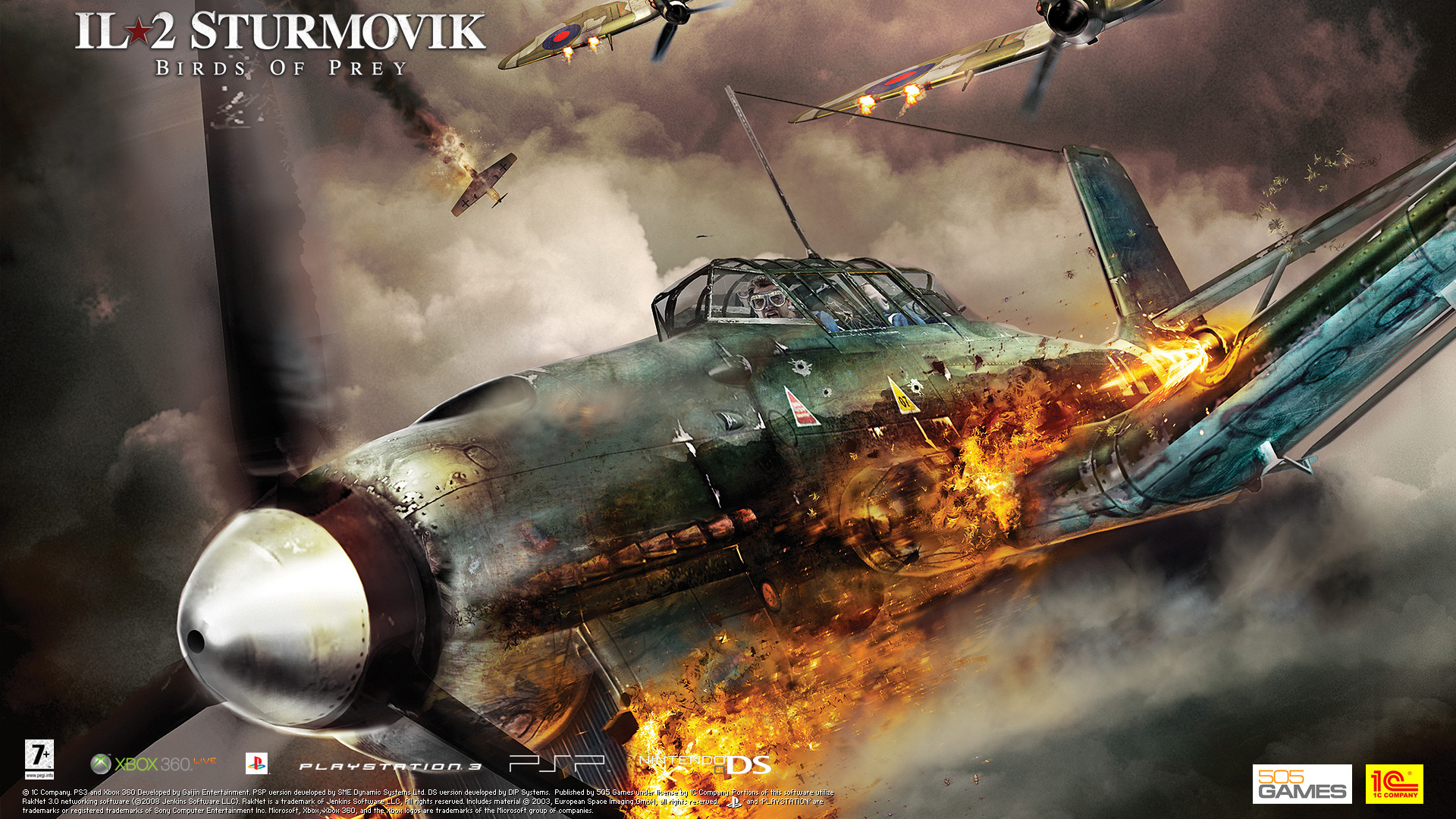 Free IL-2 Sturmovik: Birds of Prey Wallpaper in 1920x1080