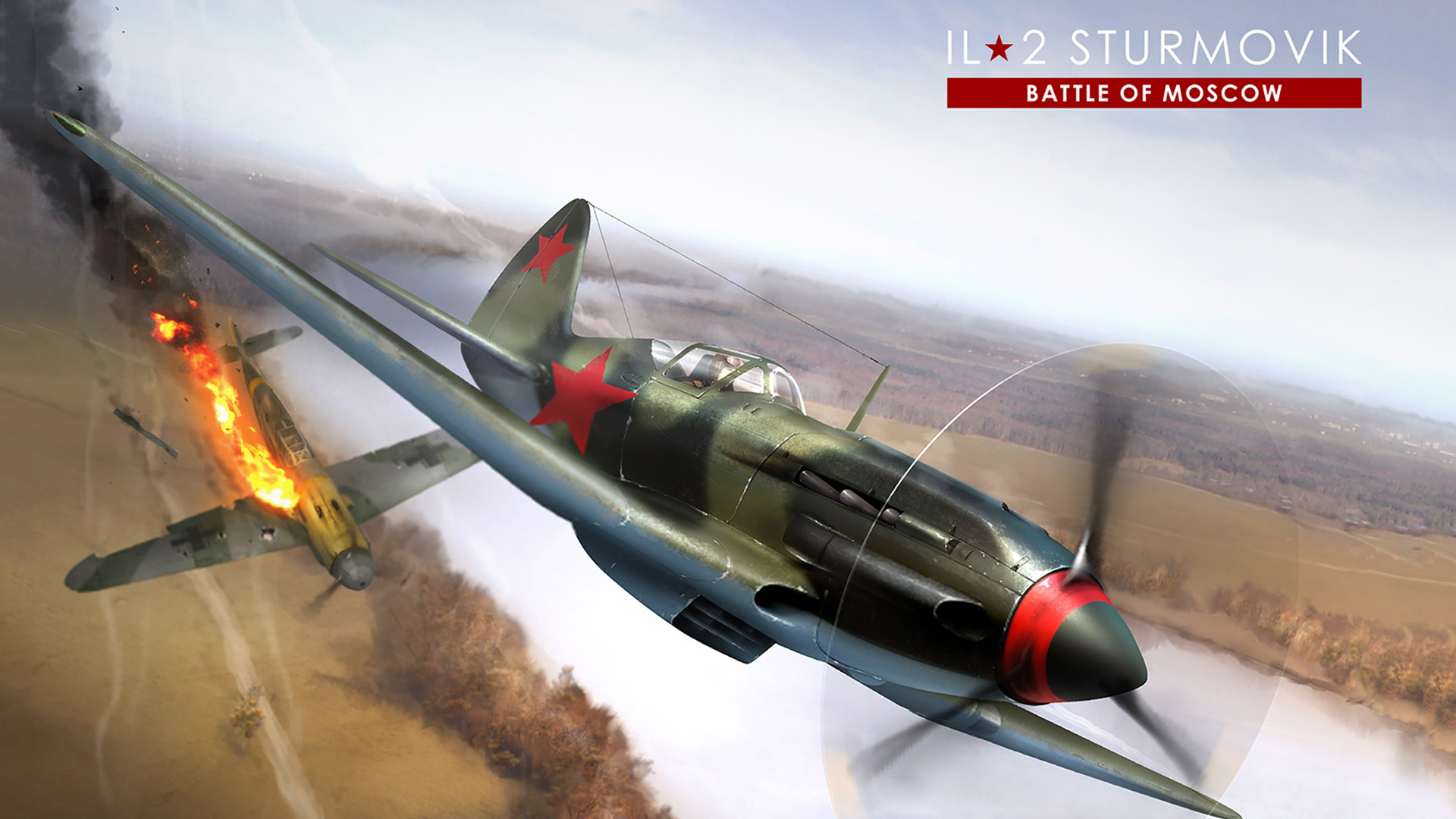 Free IL-2 Sturmovik: Battle of Stalingrad Wallpaper in 1920x1080