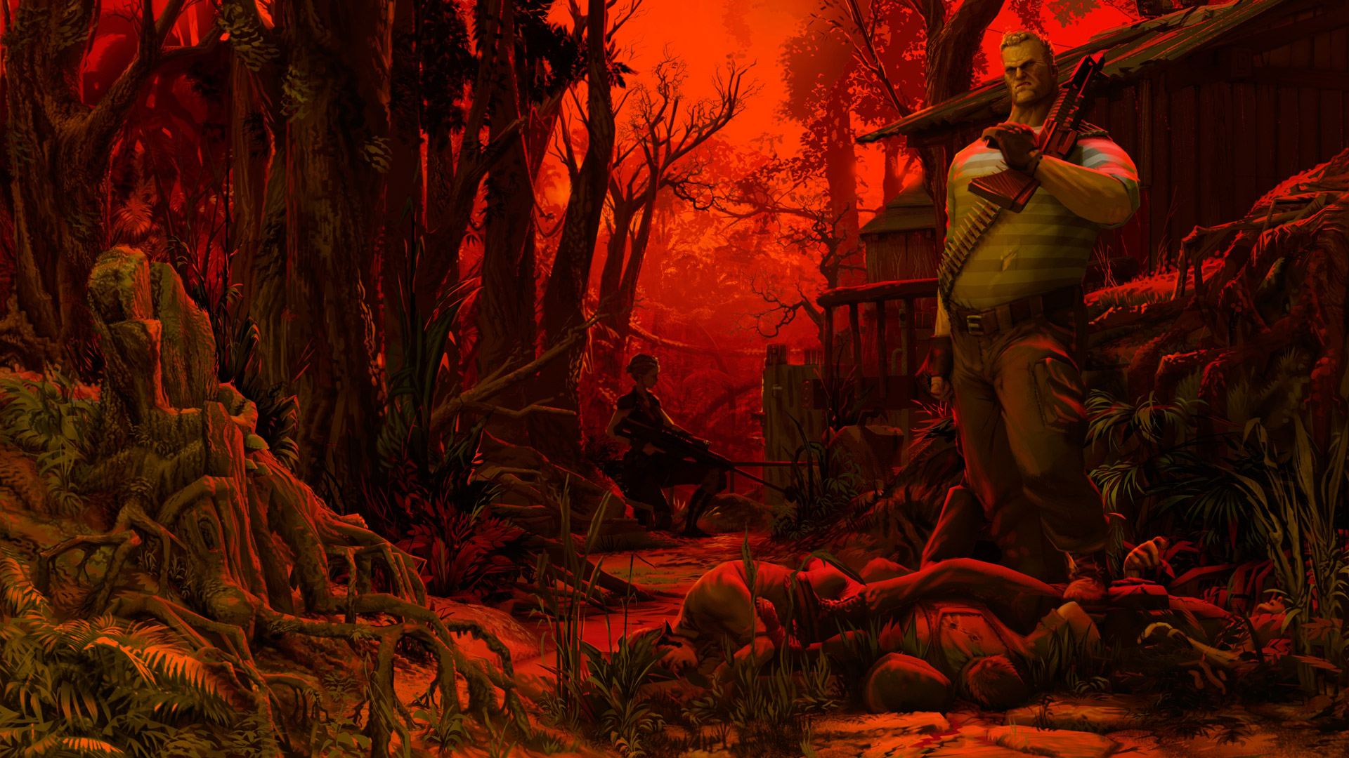 Free Jagged Alliance: Rage! Wallpaper in 1920x1080