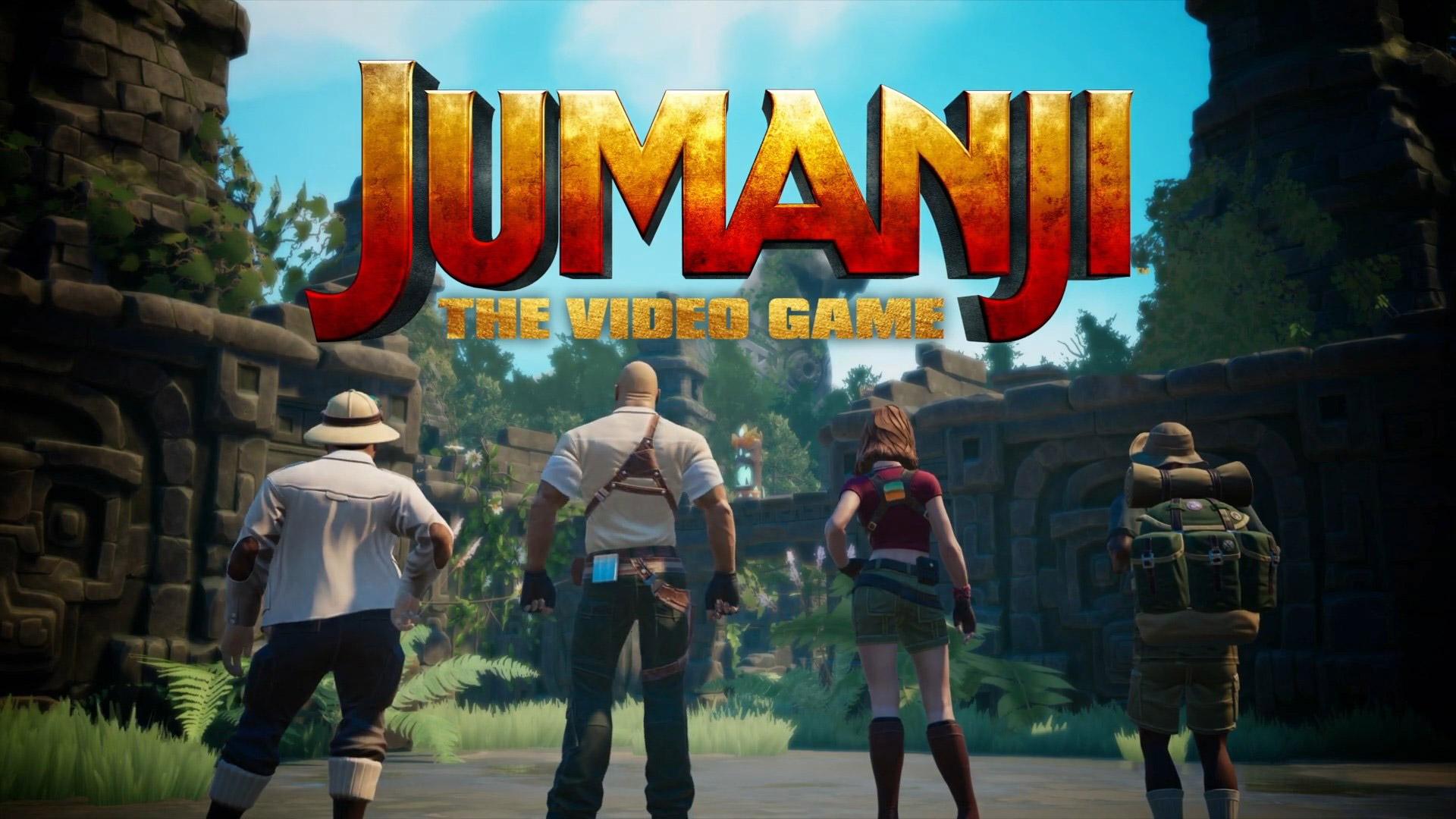 Free Jumanji: The Video Game Wallpaper in 1920x1080