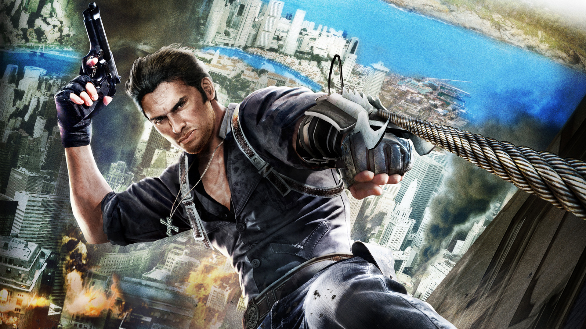 Free Just Cause 2 Wallpaper in 1920x1080