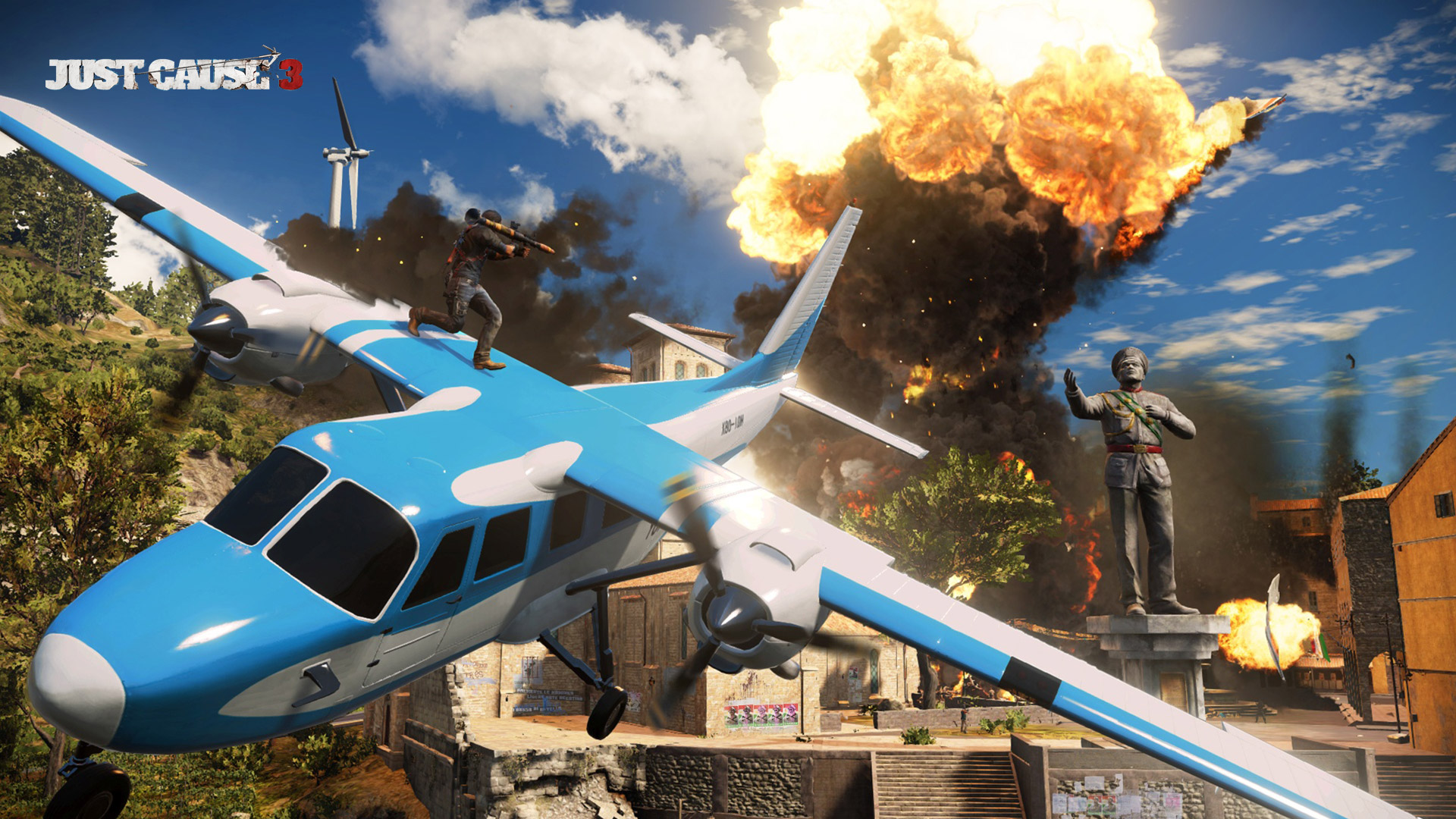 Free Just Cause 3 Wallpaper in 1920x1080