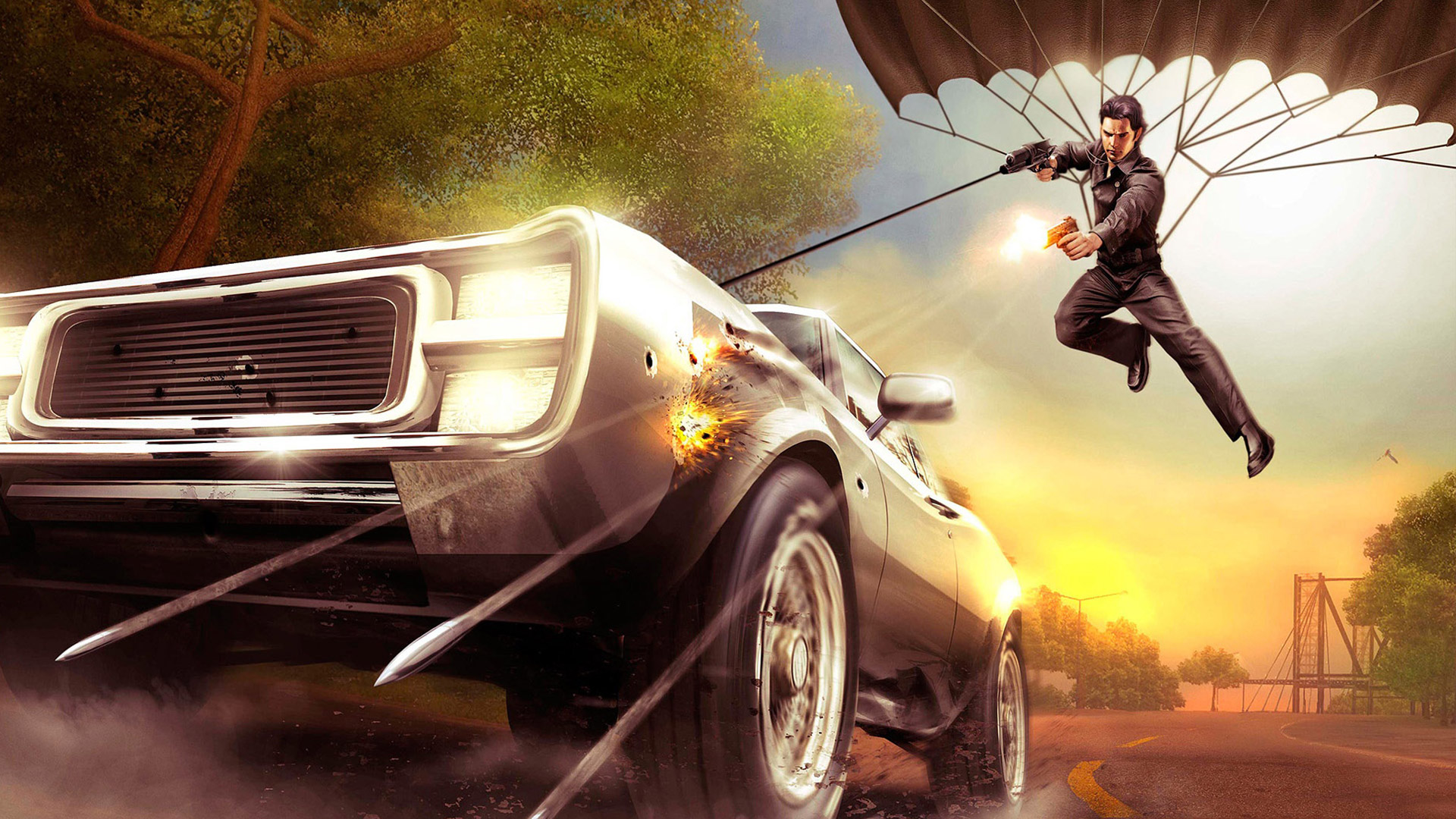 Free Just Cause Wallpaper in 1920x1080