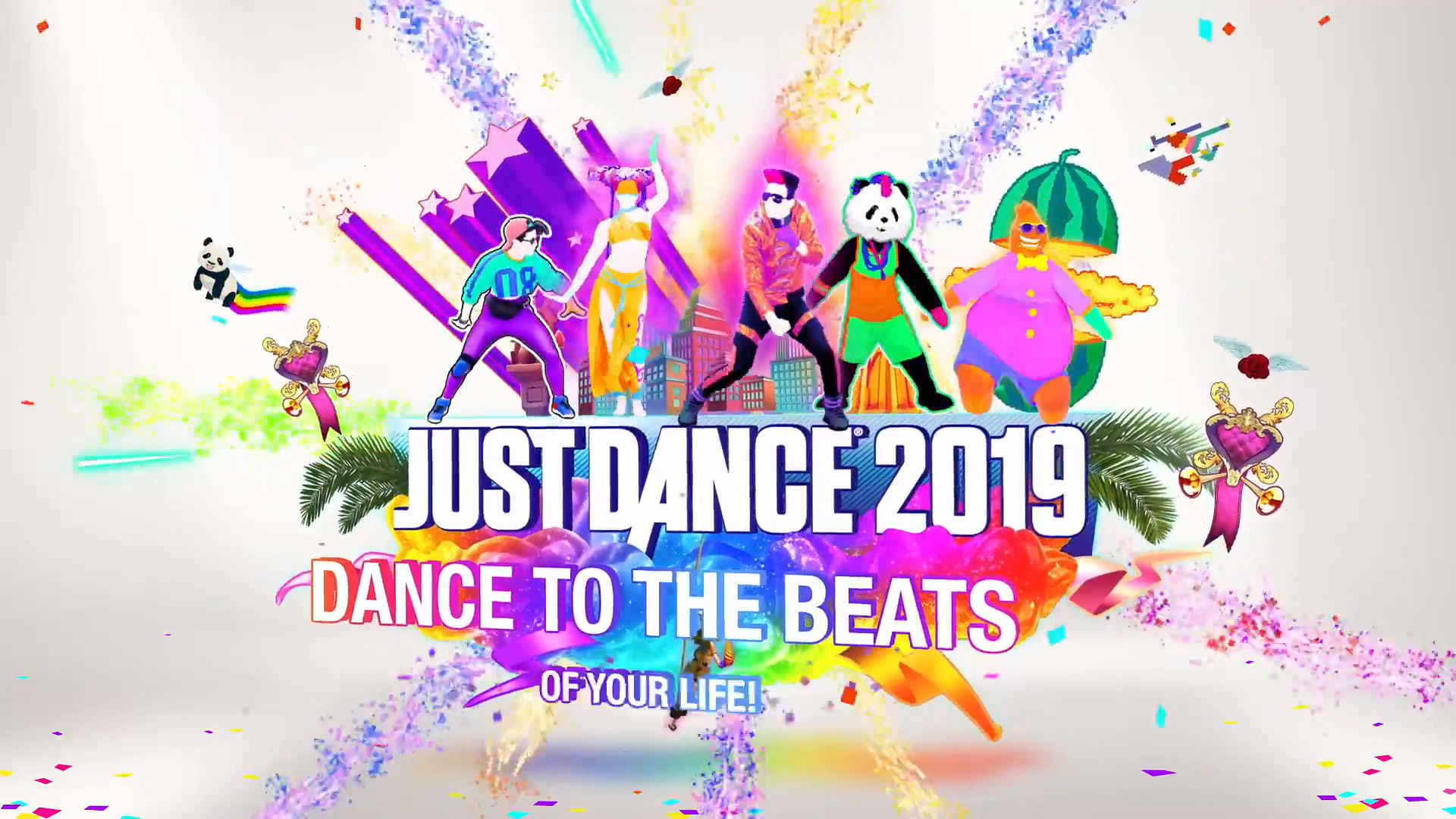 Free Just Dance 2019 Wallpaper in 1920x1080