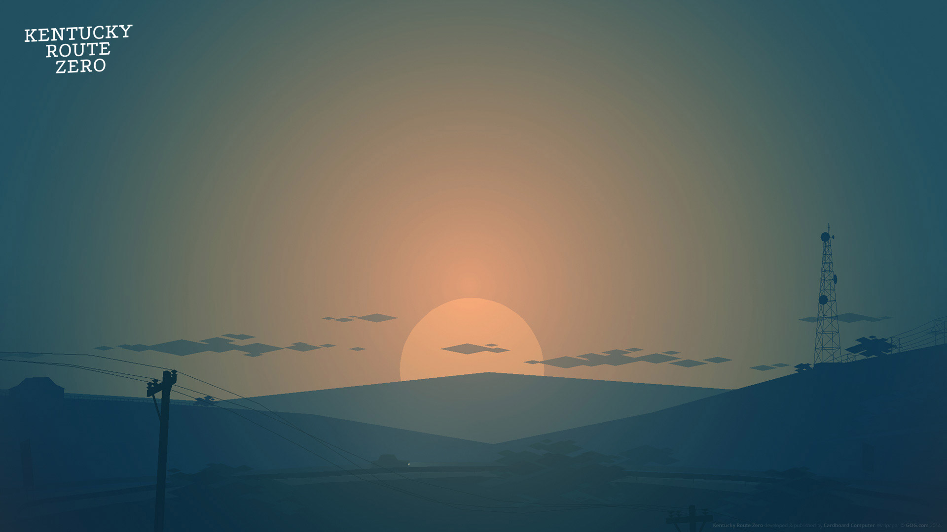 Kentucky Route Zero Wallpaper in 1920x1080
