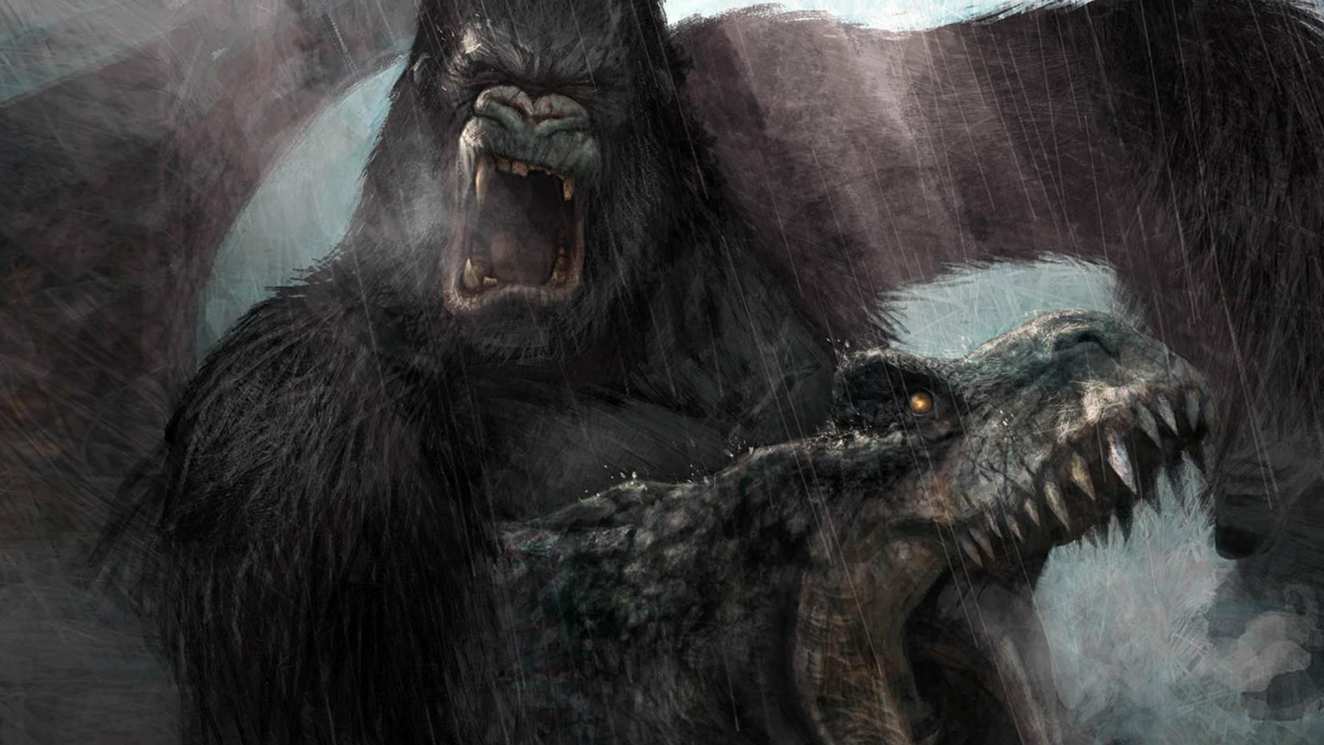 Peter Jackson's King Kong: The Official Game of the Movie Wallpaper in 1920x1080