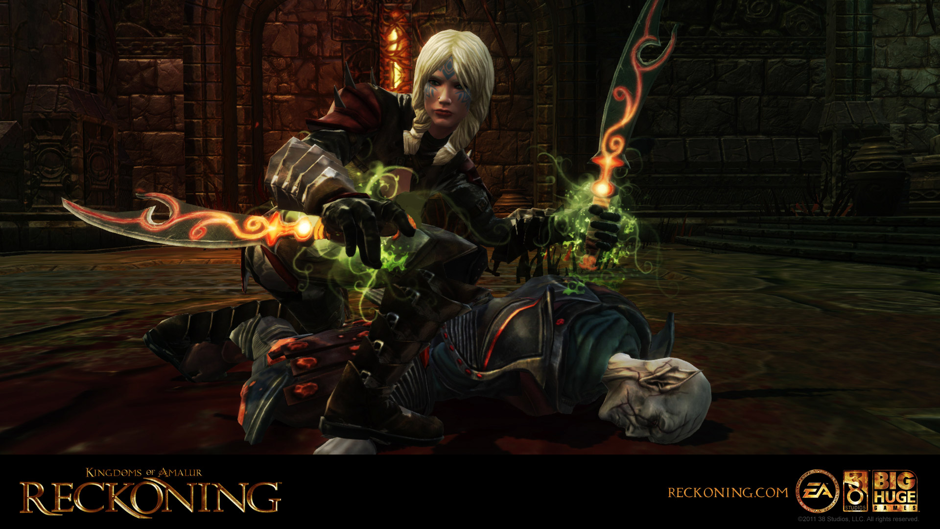 Free Kingdoms of Amalur: Reckoning Wallpaper in 1920x1080