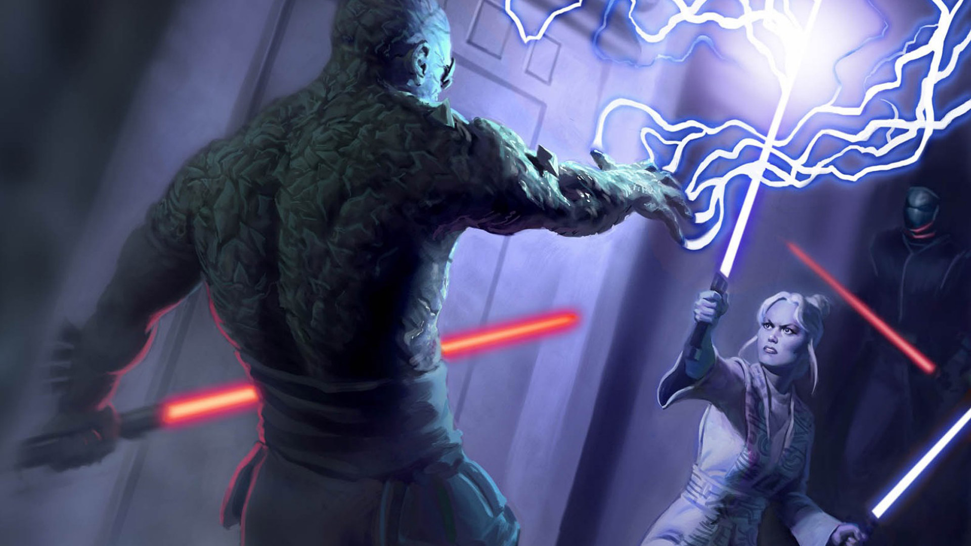 Free Star Wars: Knights of the Old Republic II � The Sith Lords Wallpaper in 1920x1080