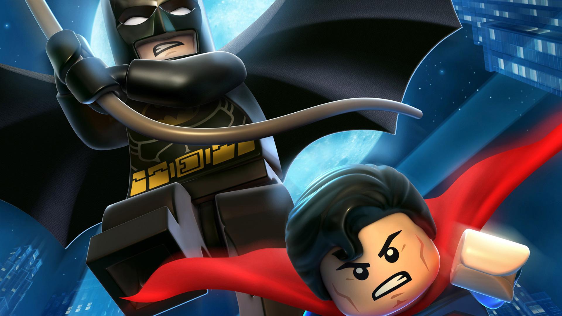 Free Lego Batman 2: DC Super Heroes Wallpaper in 1920x1080