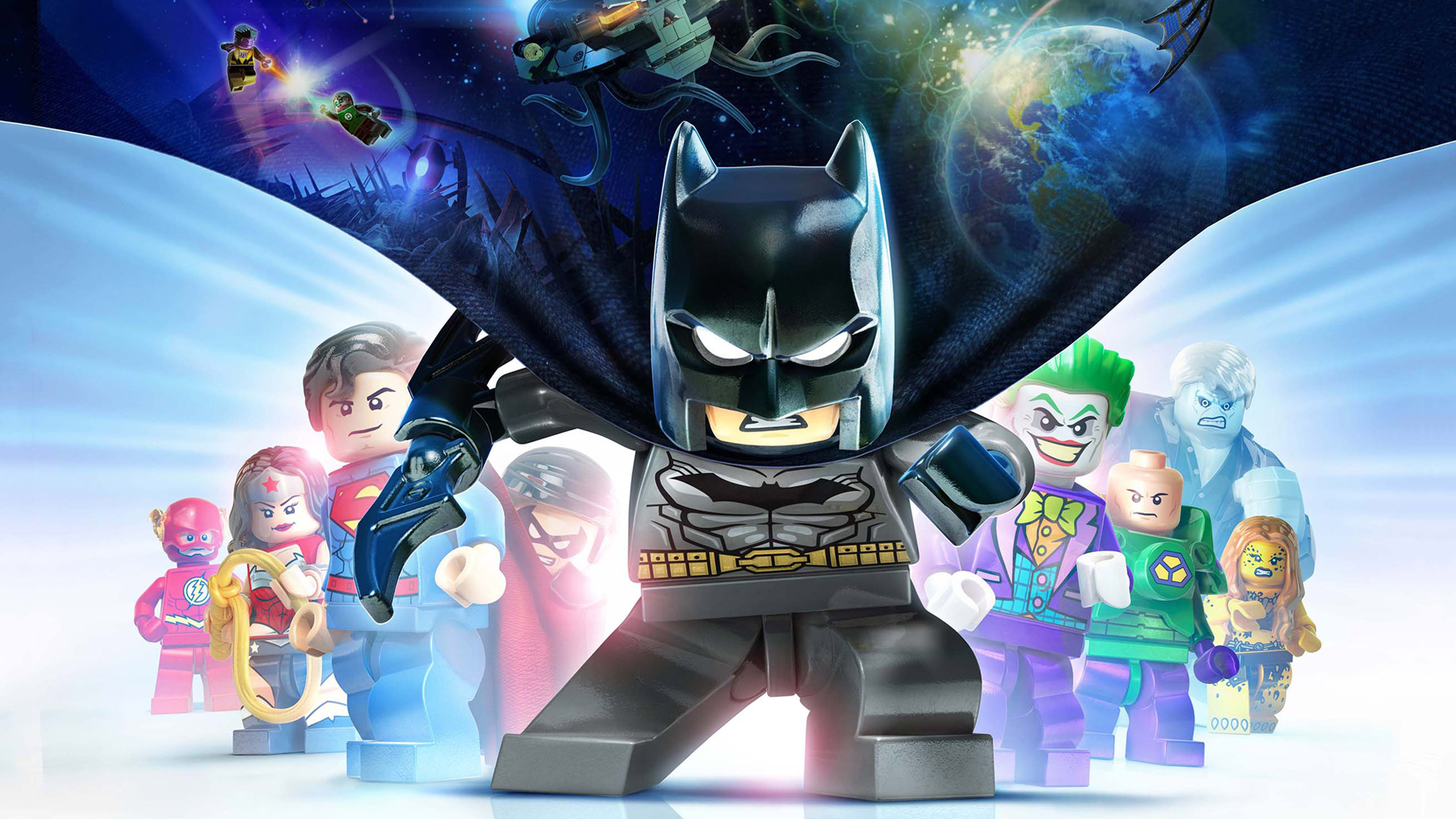 Free Lego Batman 3: Beyond Gotham Wallpaper in 1920x1080