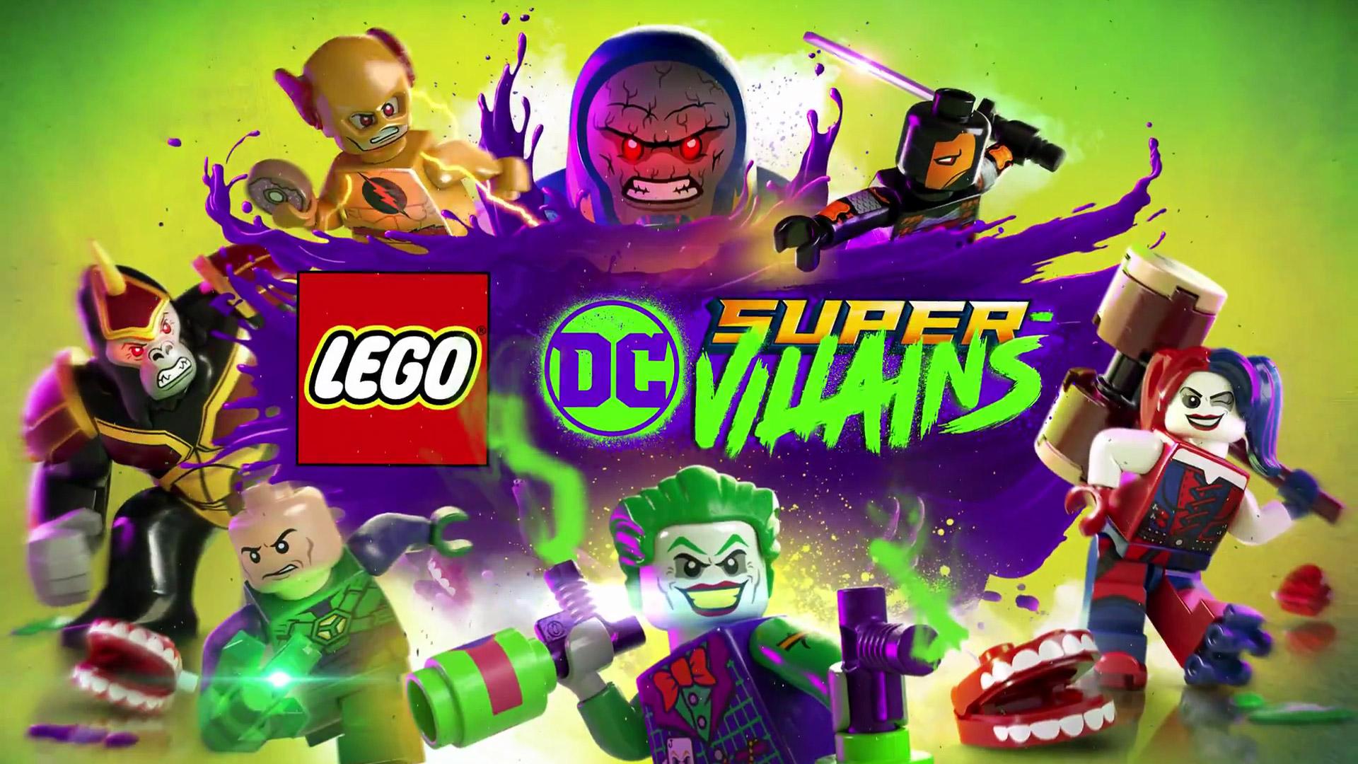 Lego DC Super Villains Wallpaper in 1920x1080