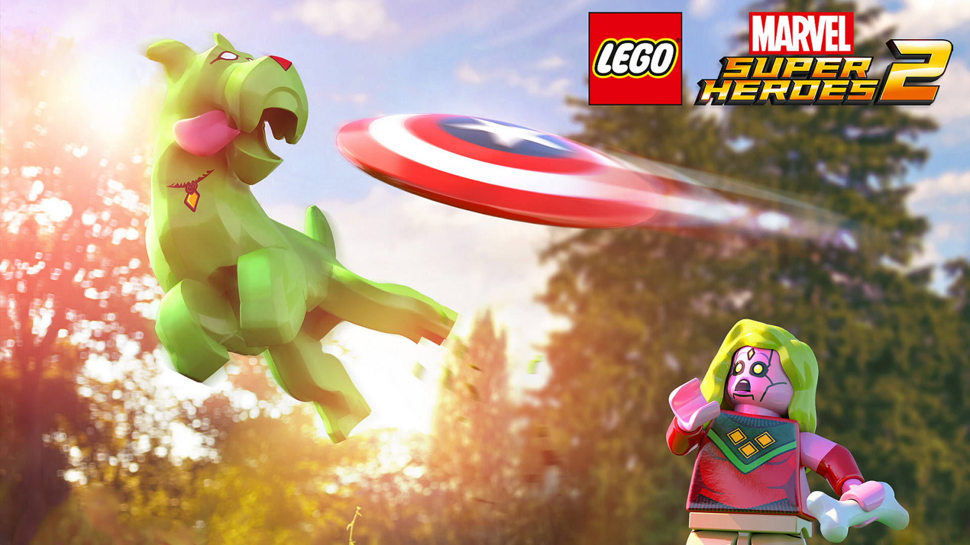 Free Lego Marvel Super Heroes 2 Wallpaper in 1920x1080