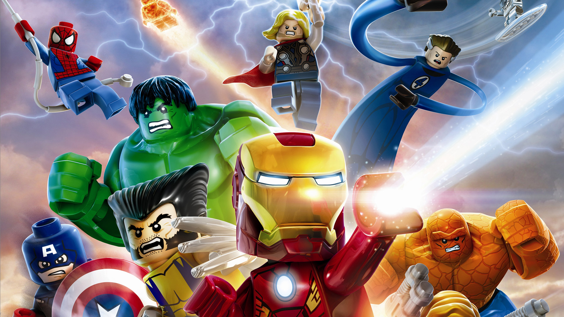 Lego Marvel Super Heroes Wallpaper in 1920x1080