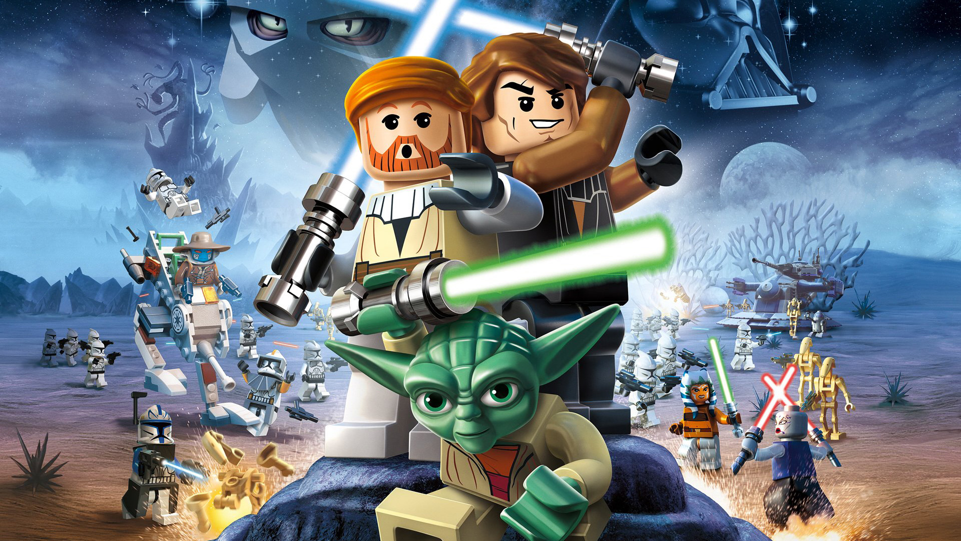 Free Lego Star Wars III: The Clone Wars Wallpaper in 1920x1080