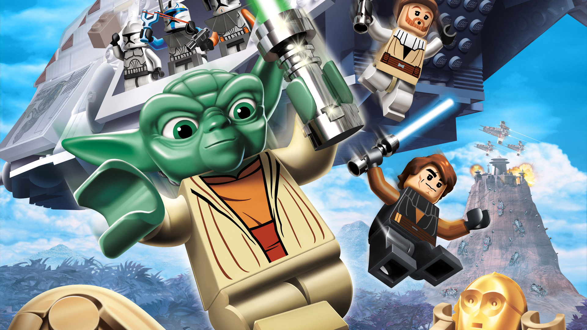 Lego Star Wars Iii The Clone Wars Wallpaper In 1920x1080
