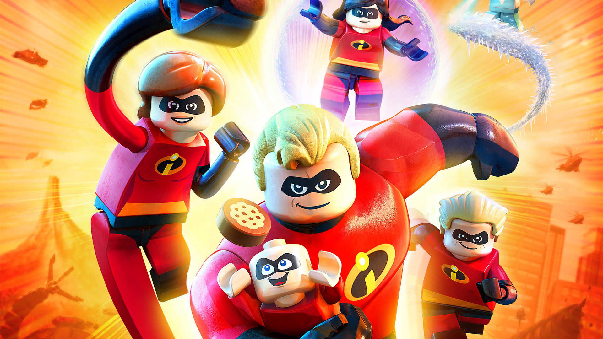 Free Lego The Incredibles Wallpaper in 1920x1080