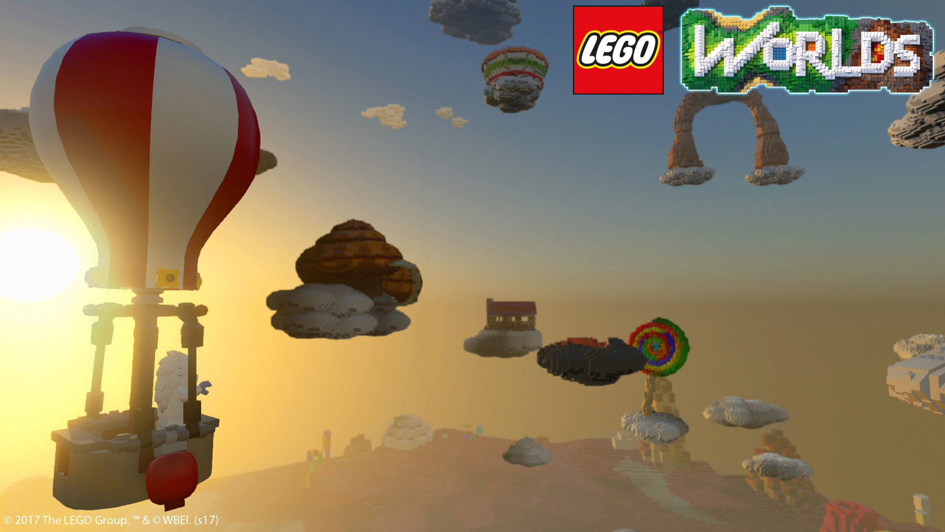 Free Lego Worlds Wallpaper in 1920x1080