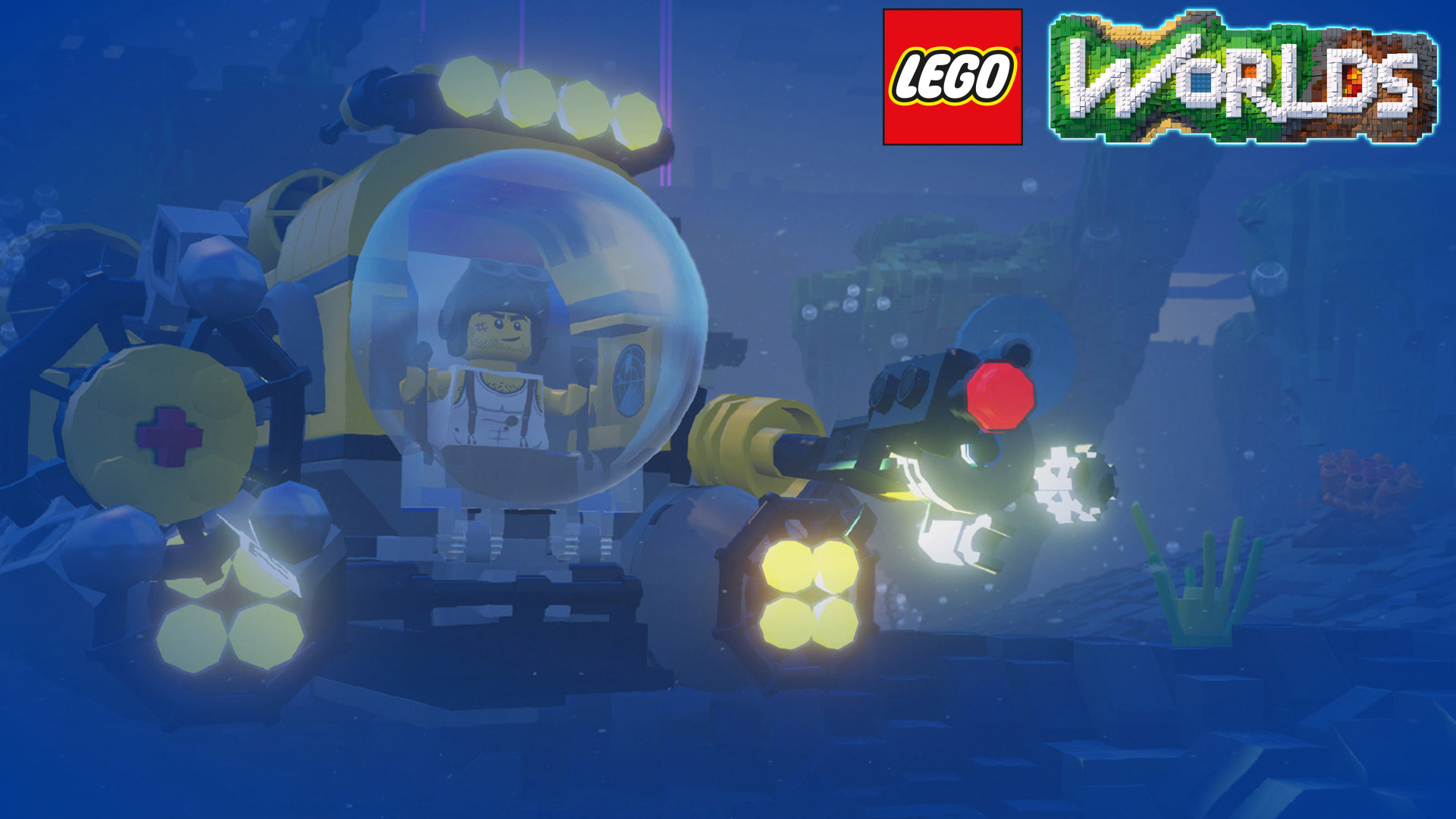 Lego Worlds Wallpaper in 1920x1080