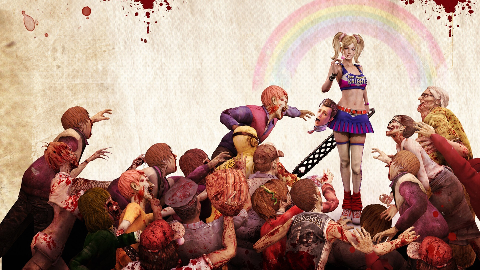 Free Lollipop Chainsaw Wallpaper in 1920x1080