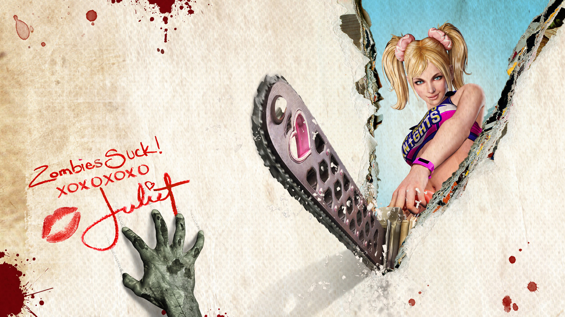 Lollipop Chainsaw Wallpaper in 1920x1080