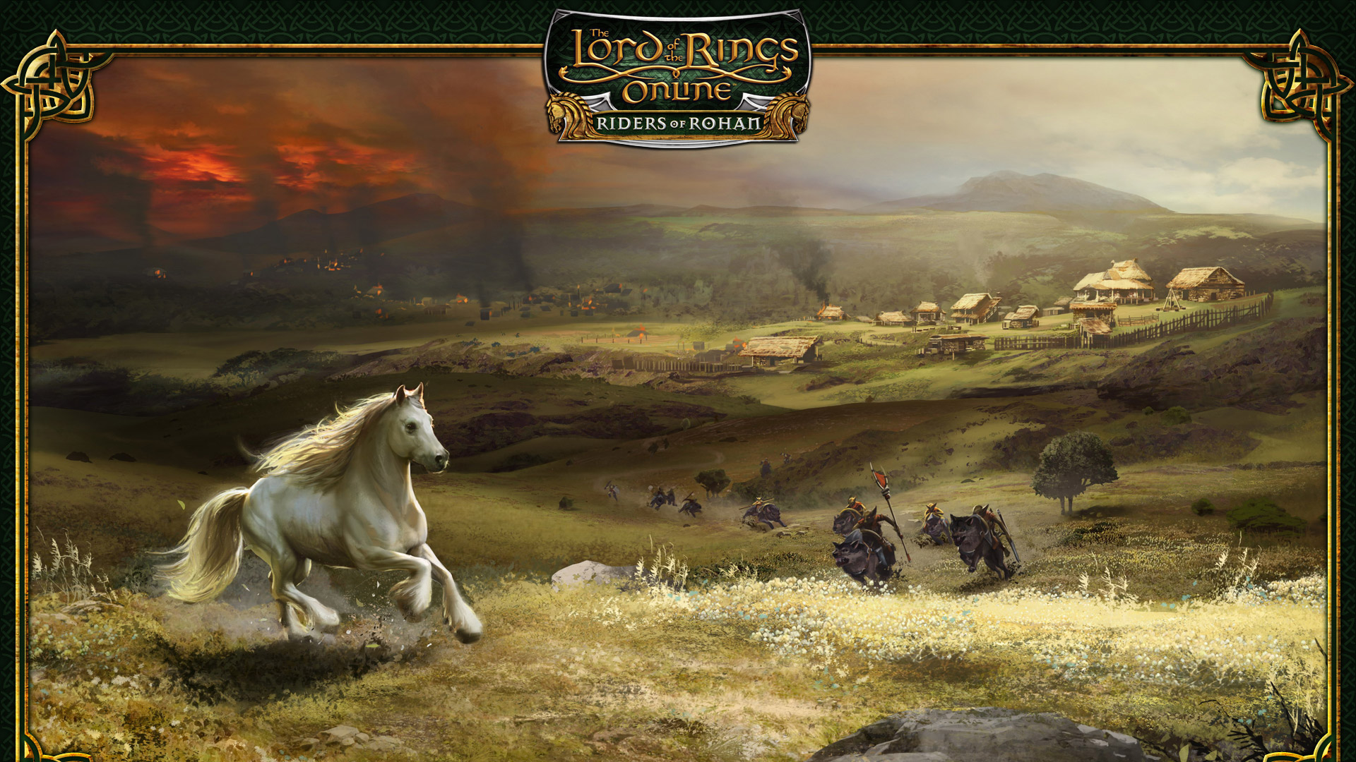 Free The Lord of the Rings Online Wallpaper in 1920x1080