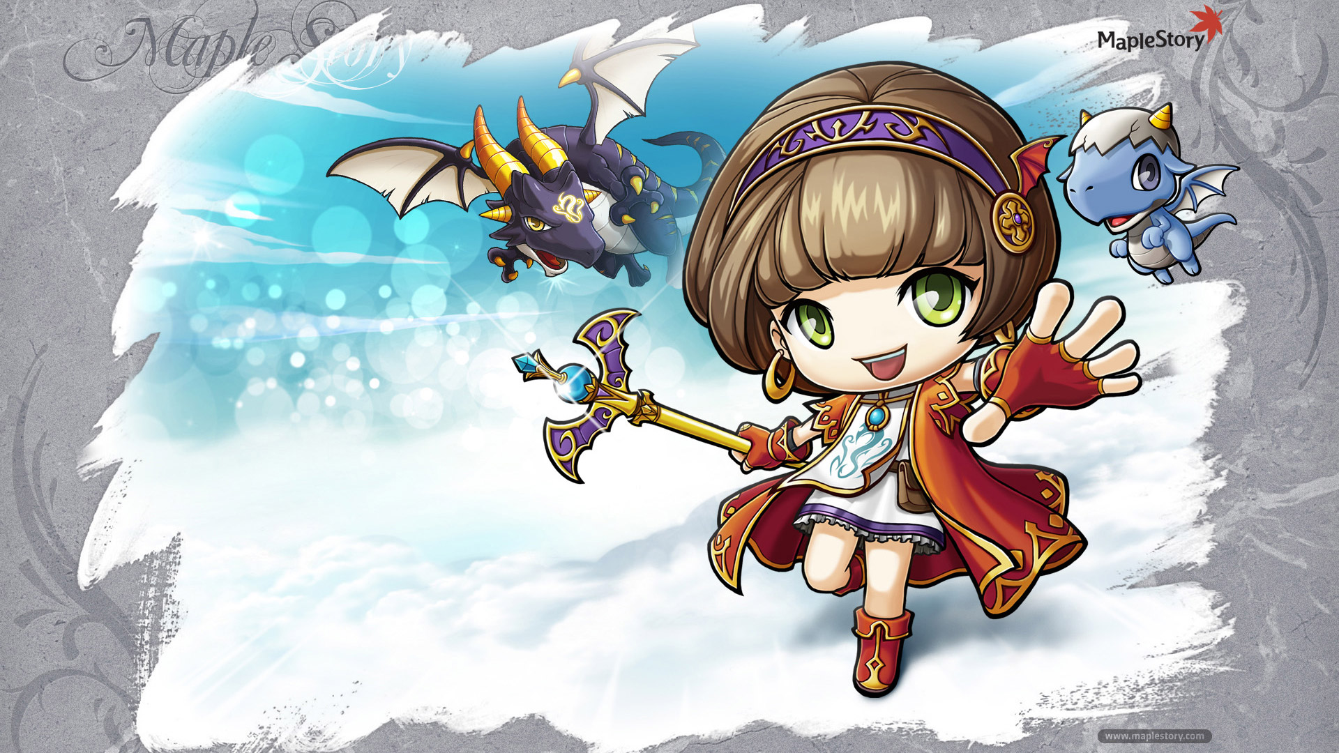 Free MapleStory Wallpaper in 1920x1080