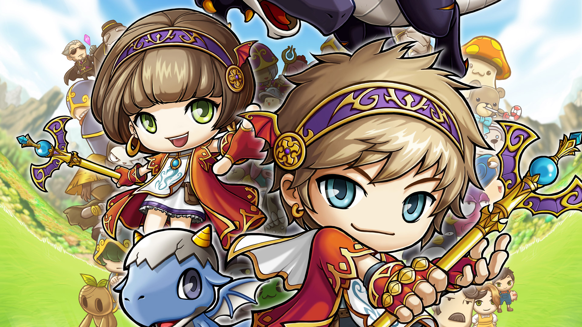 Free Maplestory Wallpaper In 19x1080