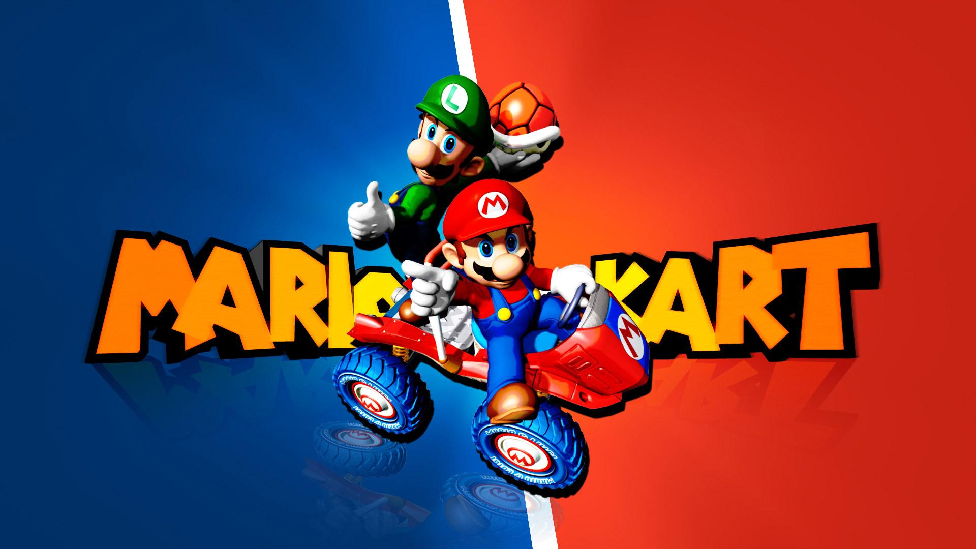 Free Mario Kart: Double Dash‼ Wallpaper in 1920x1080